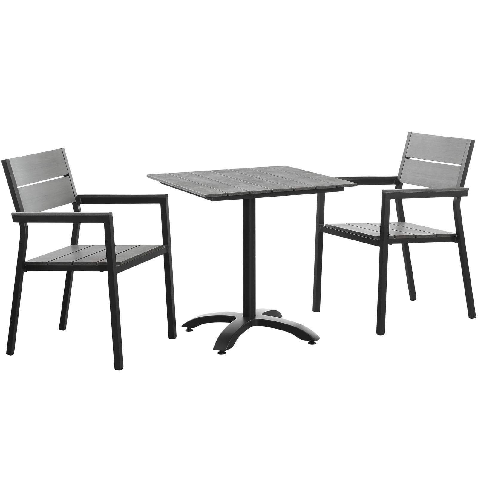 Outstanding Maine 3 Piece Outdoor Patio Dining Set Beutiful Home Inspiration Ommitmahrainfo