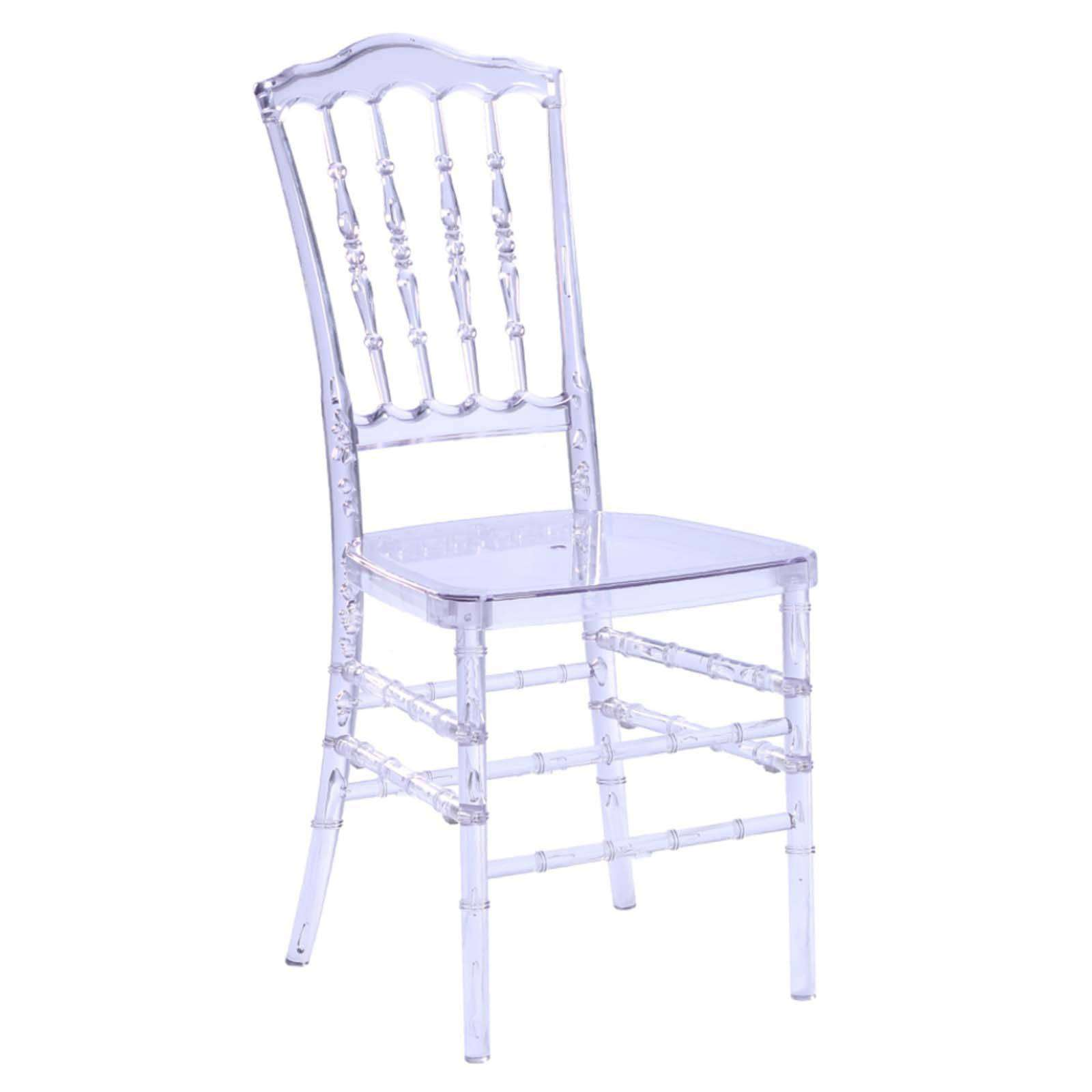 Arca Outdoor Dining Chair Clear