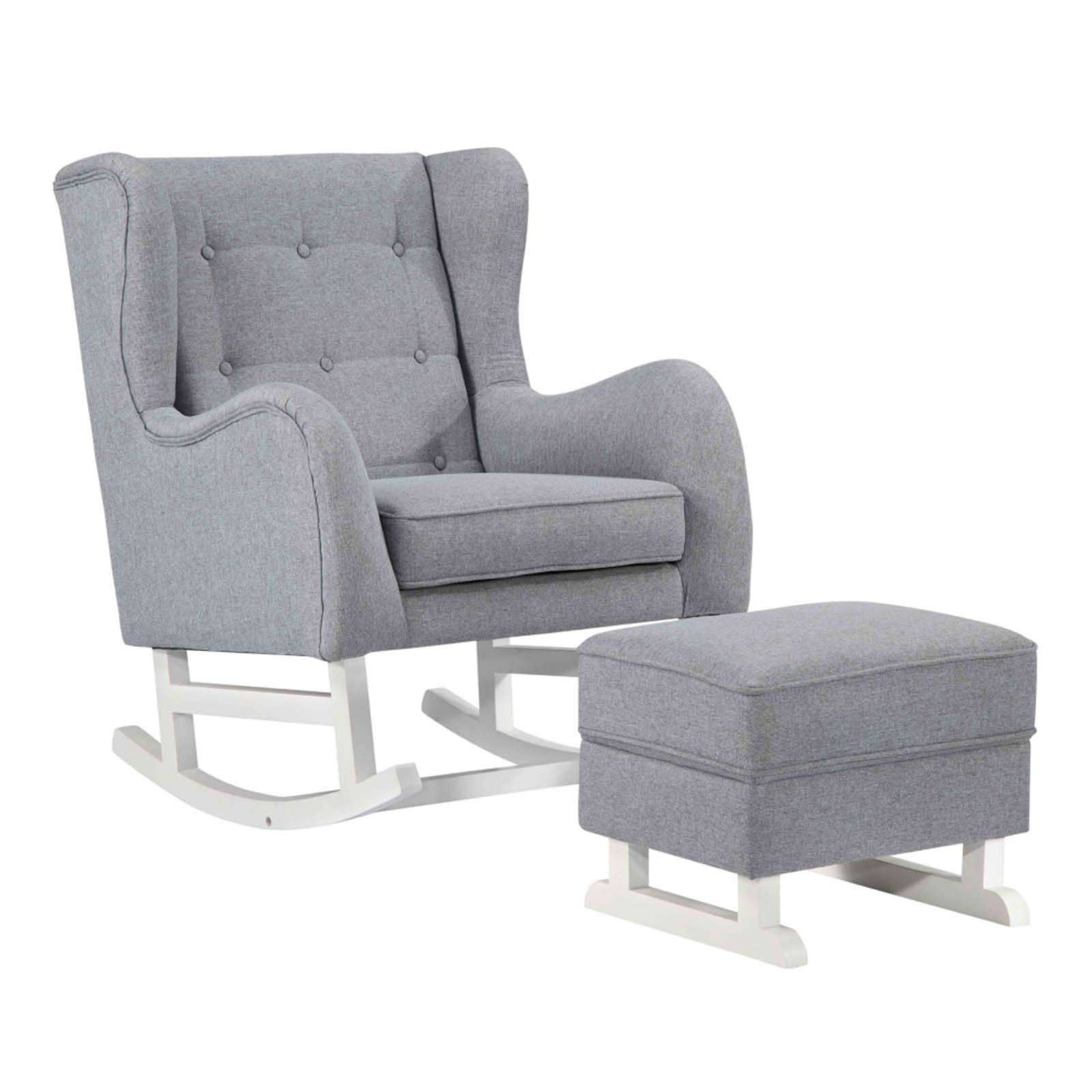Baby Polyester Lounge Chair Gray
