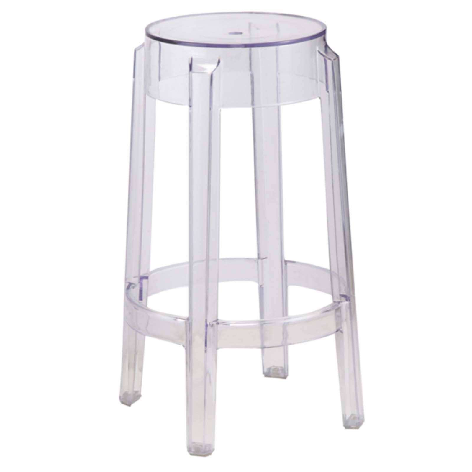 Acrylic Counter Stool Clear