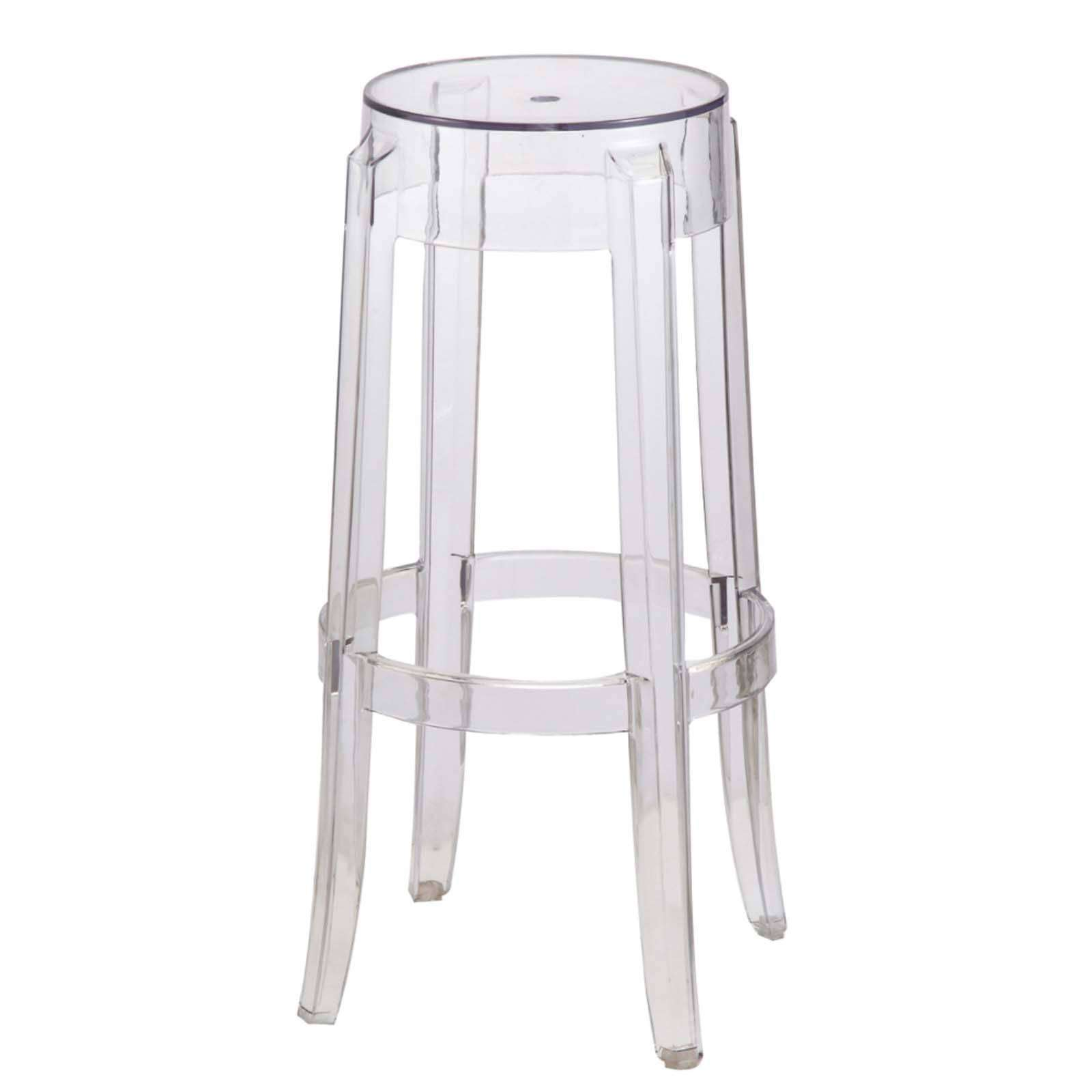 Acrylic Bar Stool Clear