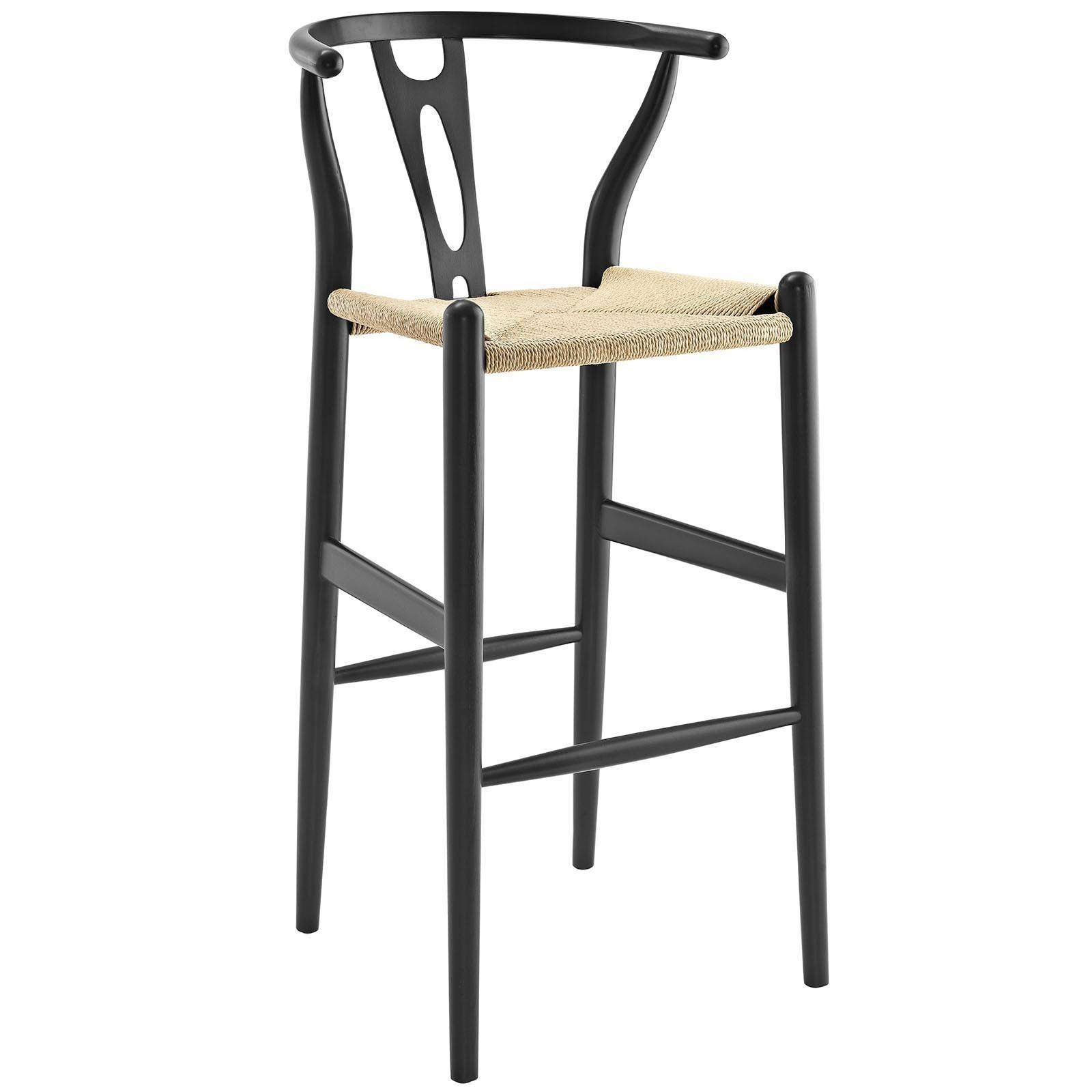 Modterior Bar Bar Stools Amish Wood Bar Stool