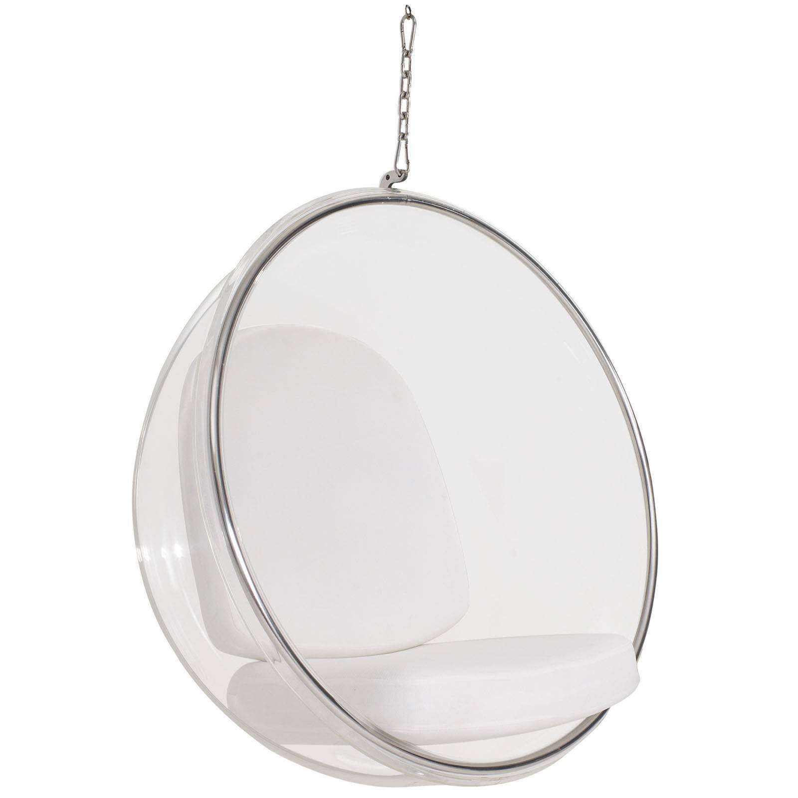 Eero Aarnio Style Hanging Bubble Chair