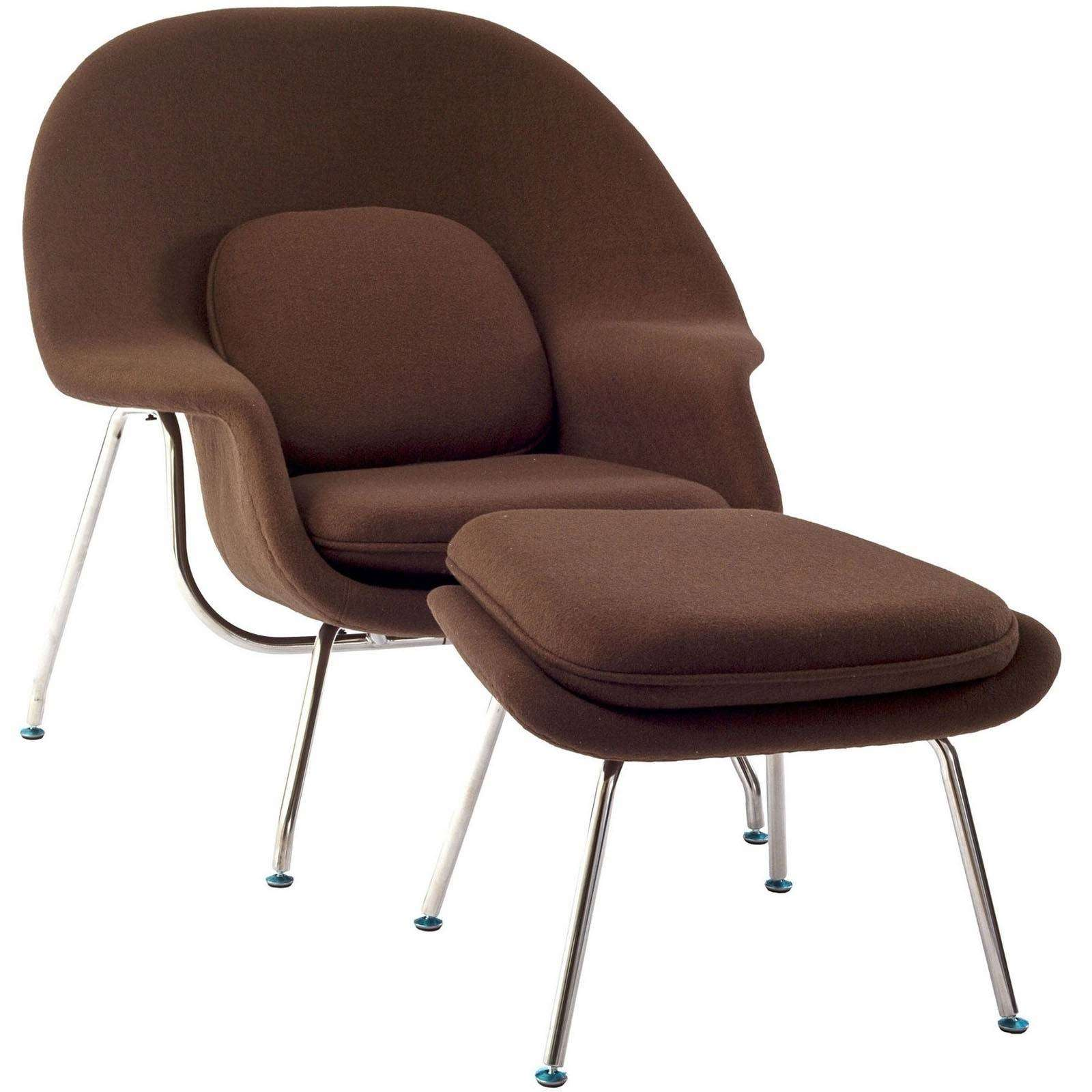 Womb Lounge Chair womb chair - saarinen lounge ottoman | modterior
