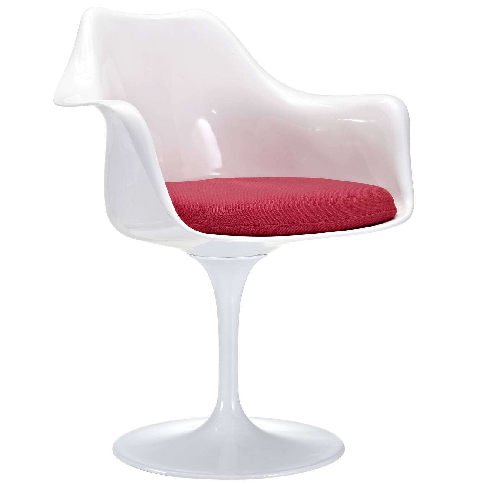 Eero Saarinen Style Tulip Arm Chair : EEI 116 RED1 from www.modterior.com size 1600 x 1600 jpeg 133kB