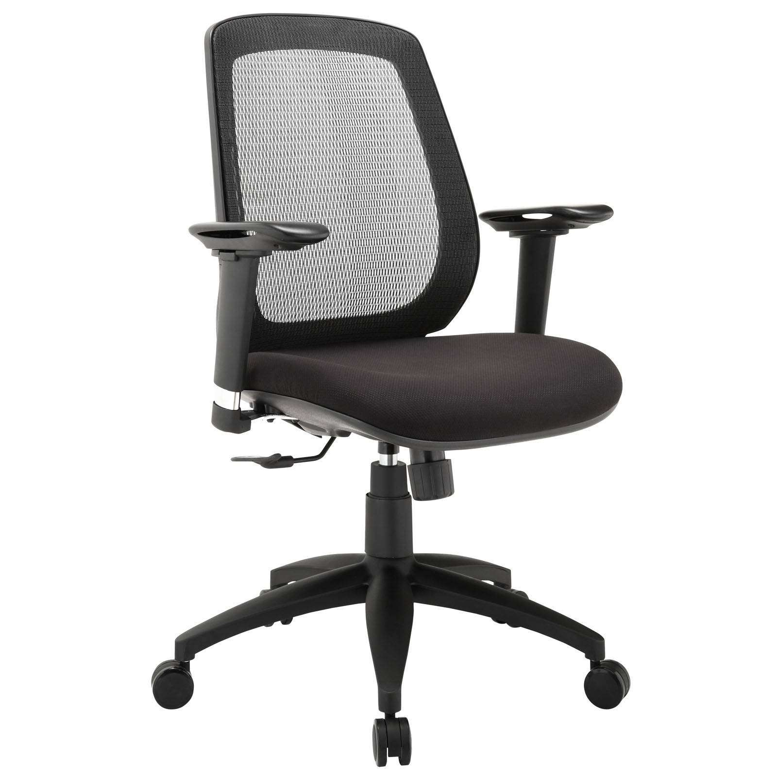 Cruise Adjustable Armrest Office Chair