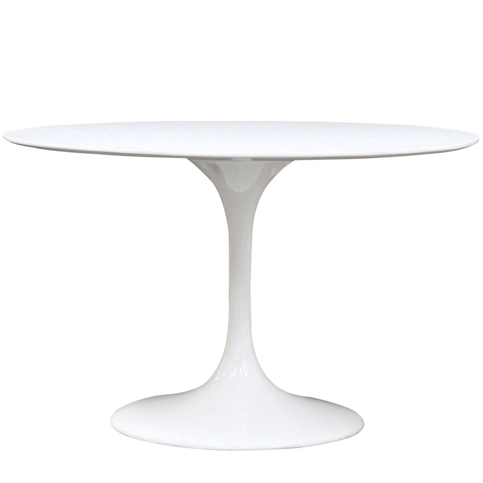 eero saarinen style tulip table fiberglass 48. Black Bedroom Furniture Sets. Home Design Ideas