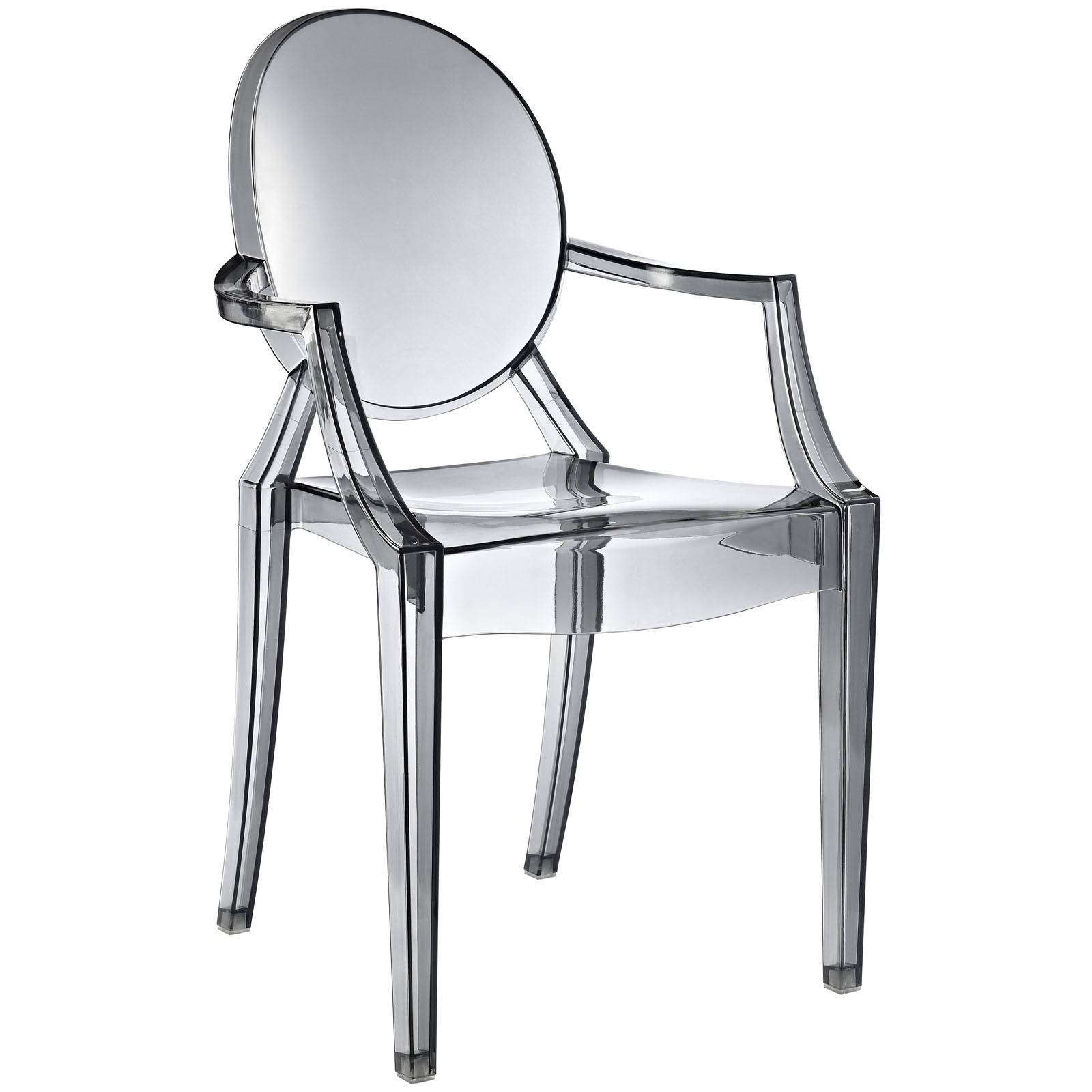 philippe starck style louis ghost arm chair. Black Bedroom Furniture Sets. Home Design Ideas