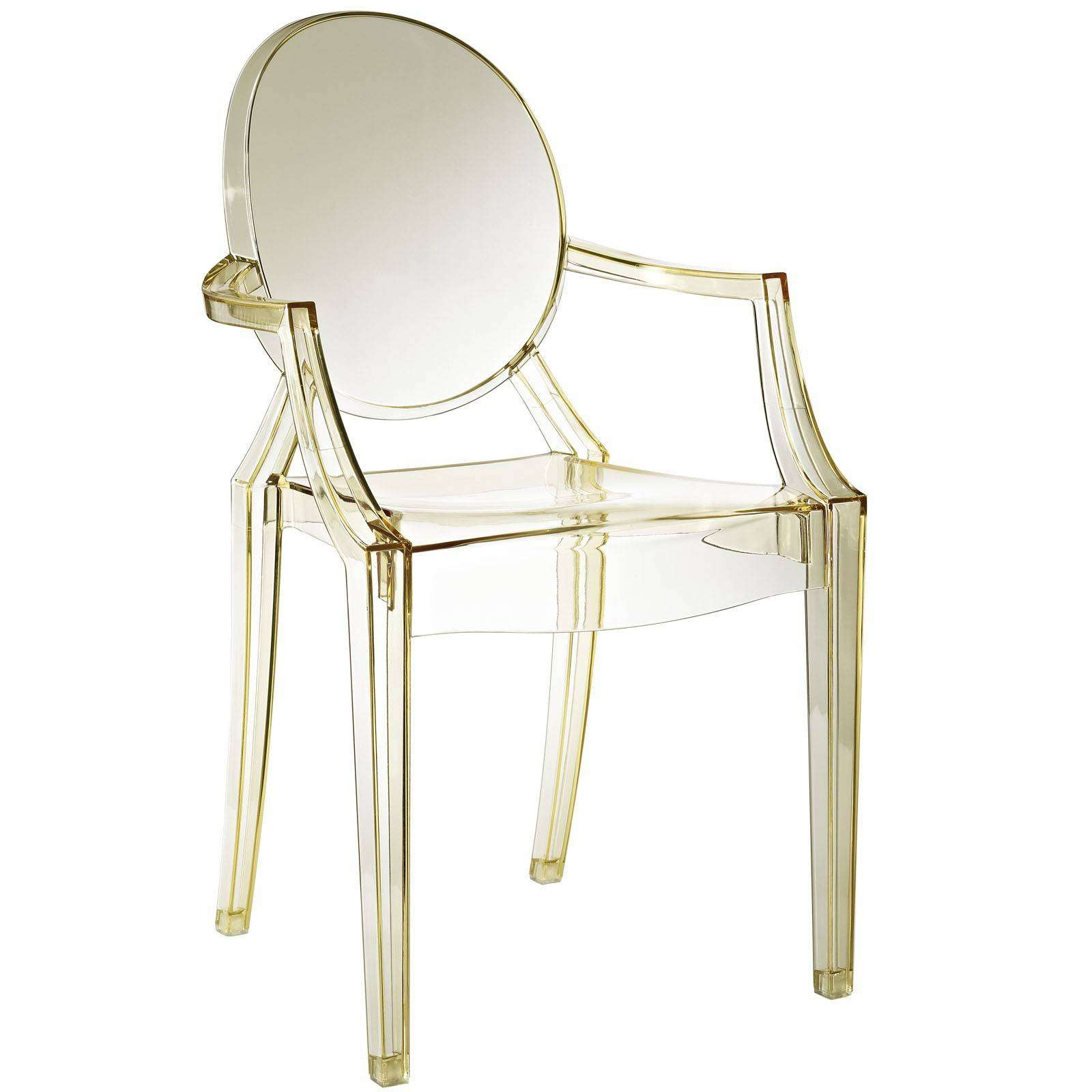 Philippe Starck Style Louis Ghost Arm Chair : EEI 121 YLW from www.modterior.com size 1600 x 1600 jpeg 191kB