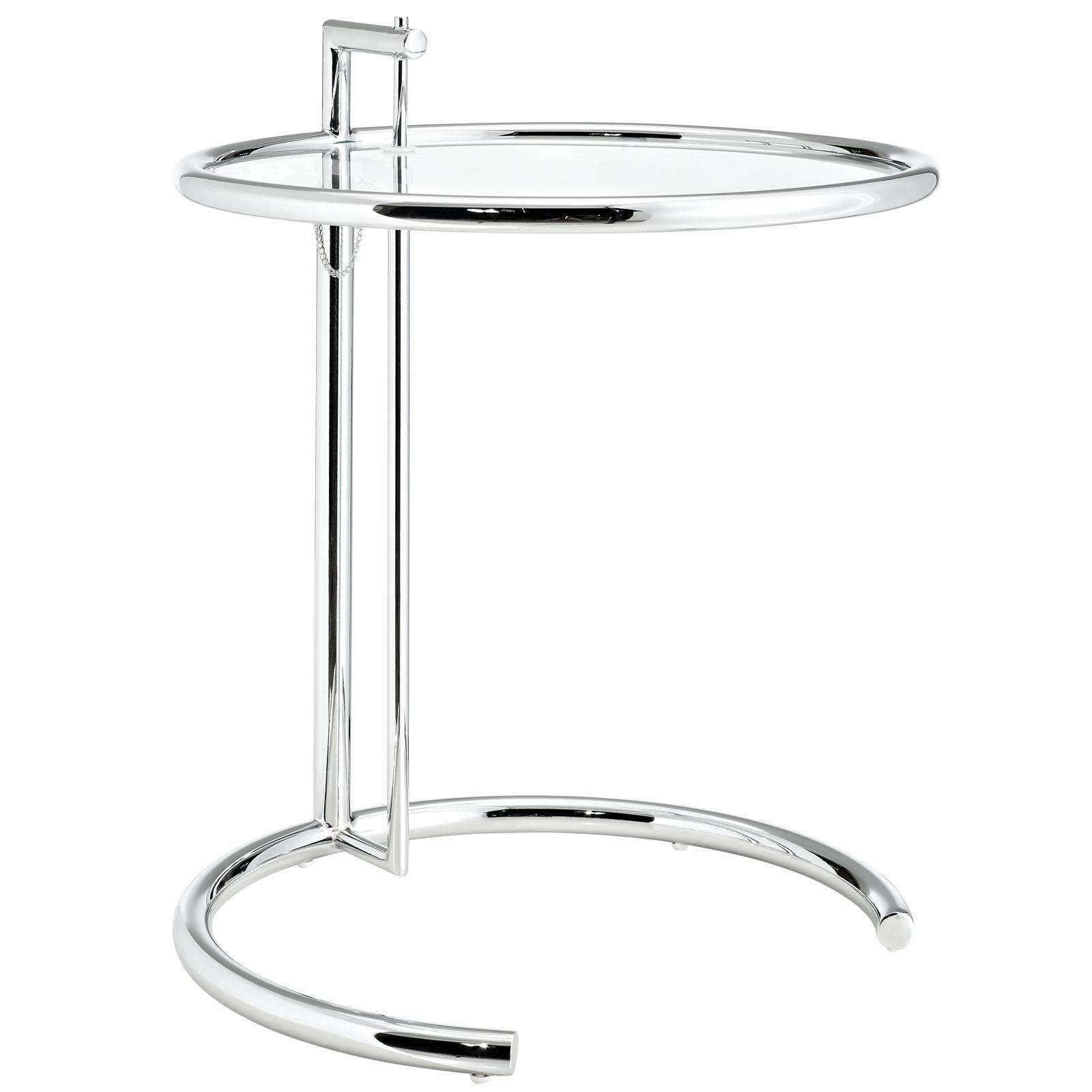 Eileen Gray Style Side Table : EEI 125 SLV1 from www.modterior.com size 1600 x 1600 jpeg 148kB