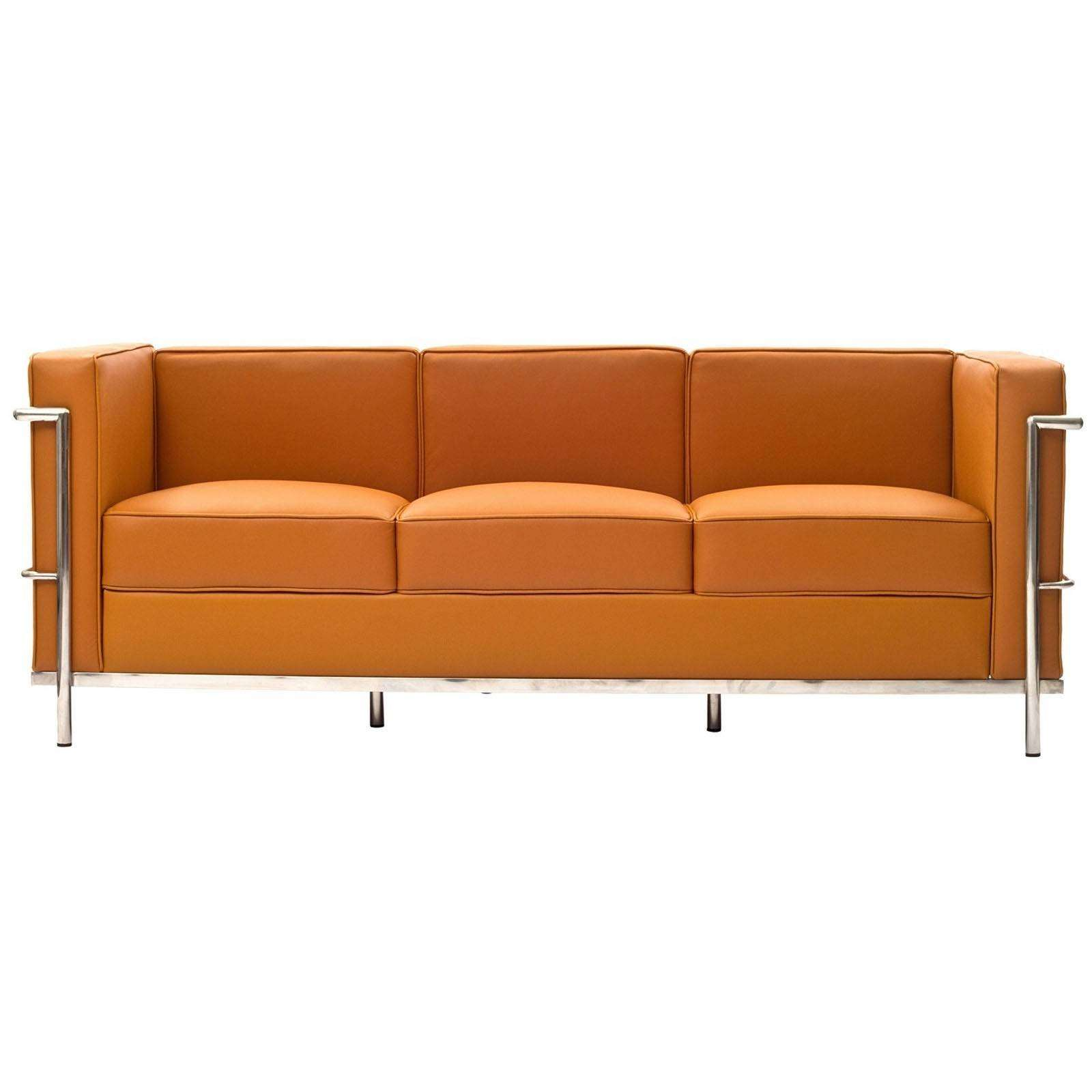 Le Corbusier Style Lc2 Sofa Leather