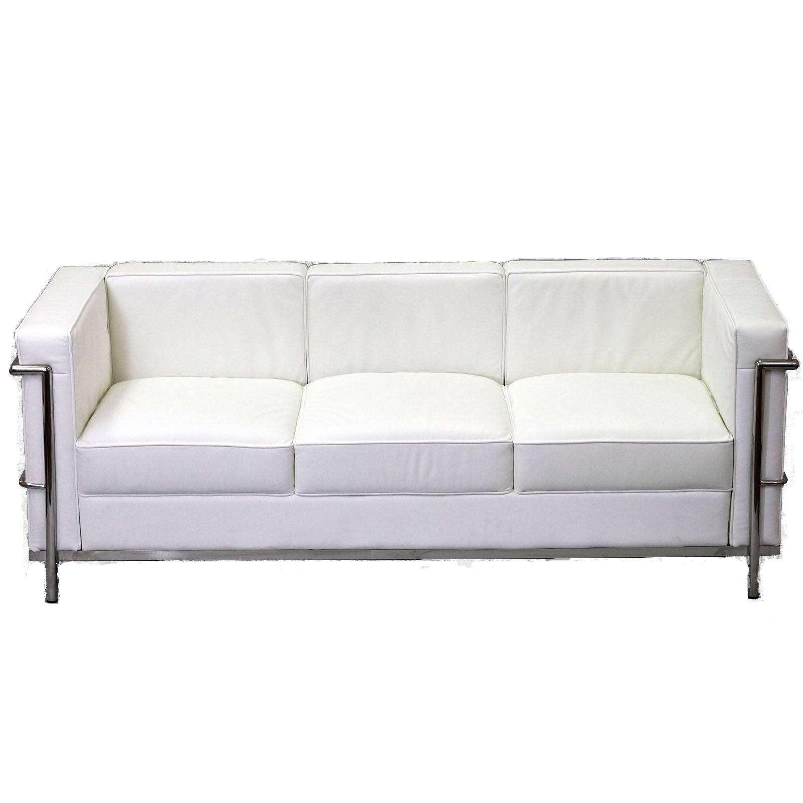 Le Corbusier Style Lc2 Sofa Leather