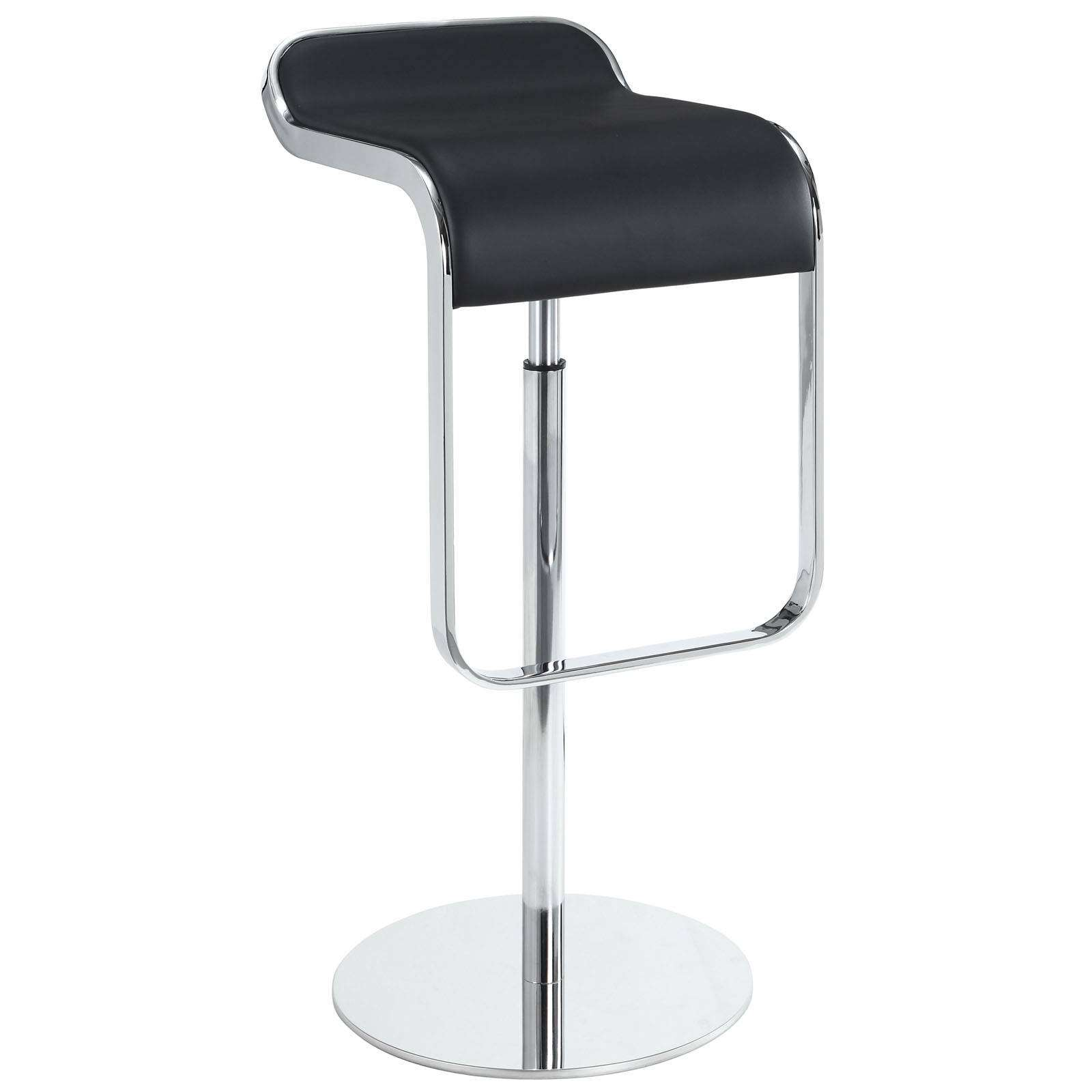 Lem Piston Bar Stool Leather