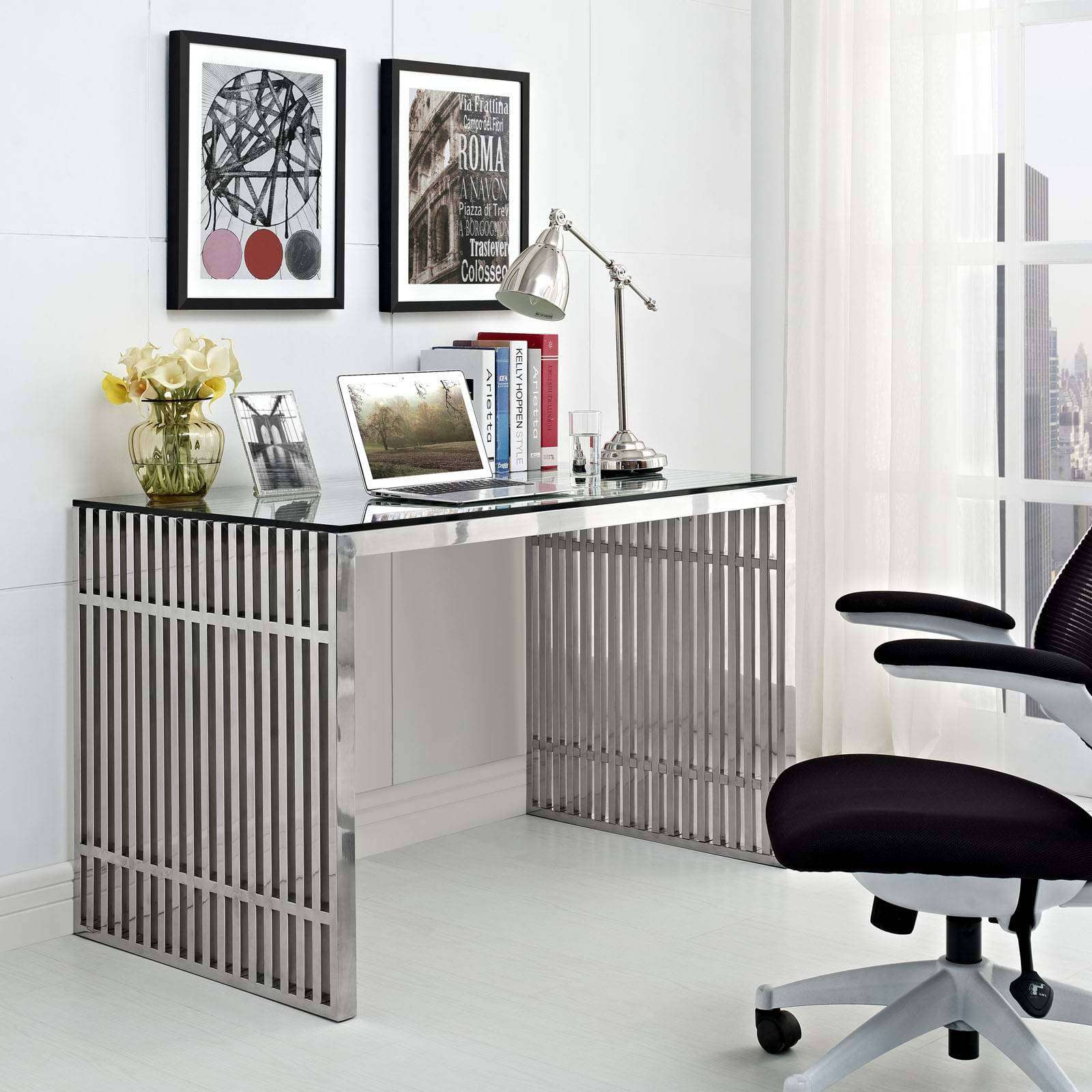 Steel Desk Design
