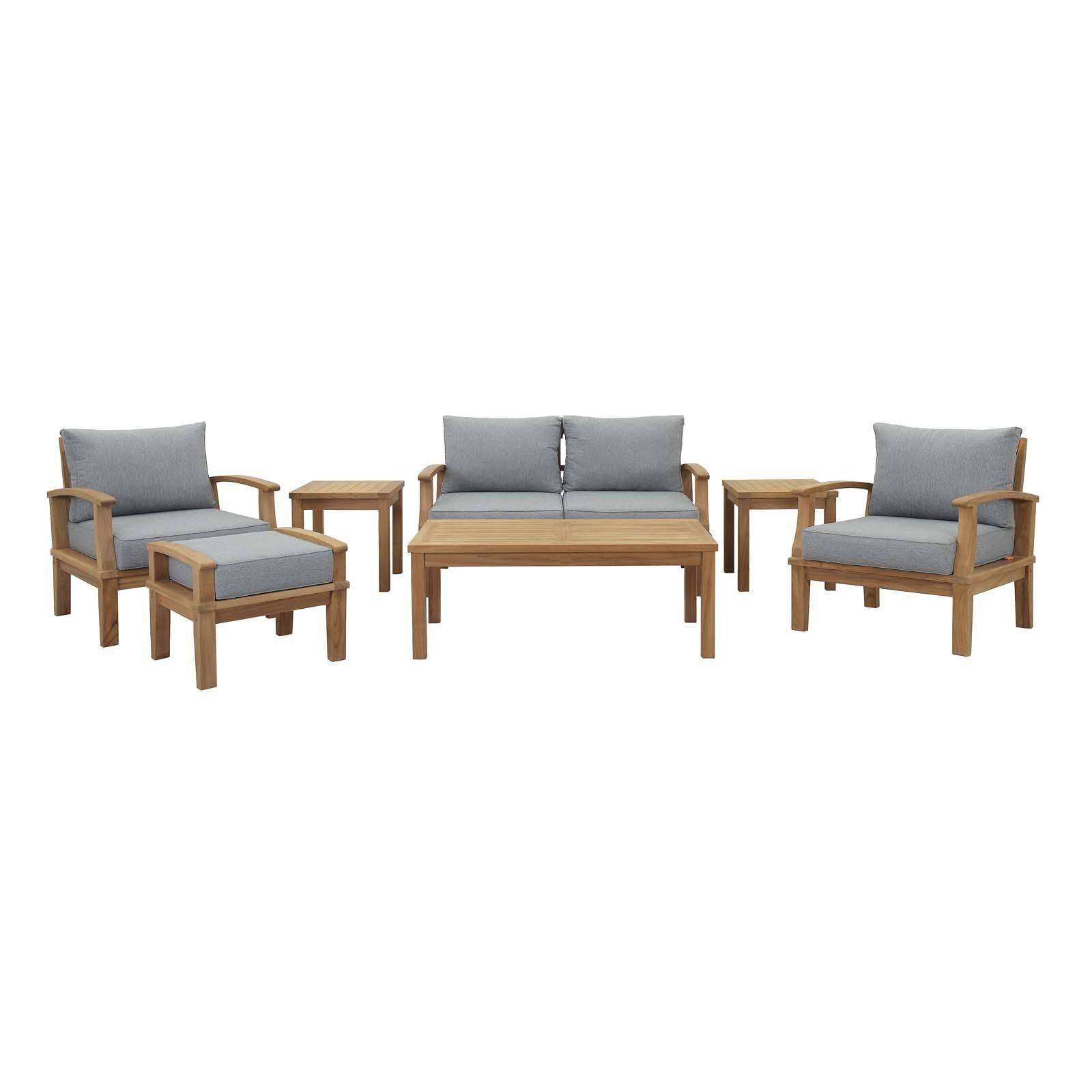 Astounding Modterior Outdoor Sectional Sets Marina 7 Piece Download Free Architecture Designs Sospemadebymaigaardcom