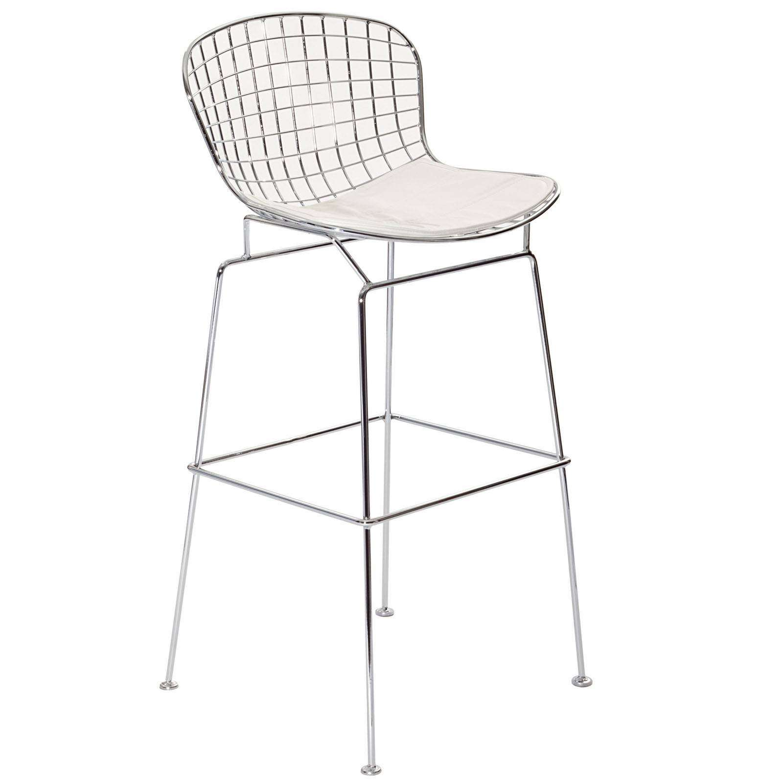 harry bertoia style bar stool. Black Bedroom Furniture Sets. Home Design Ideas