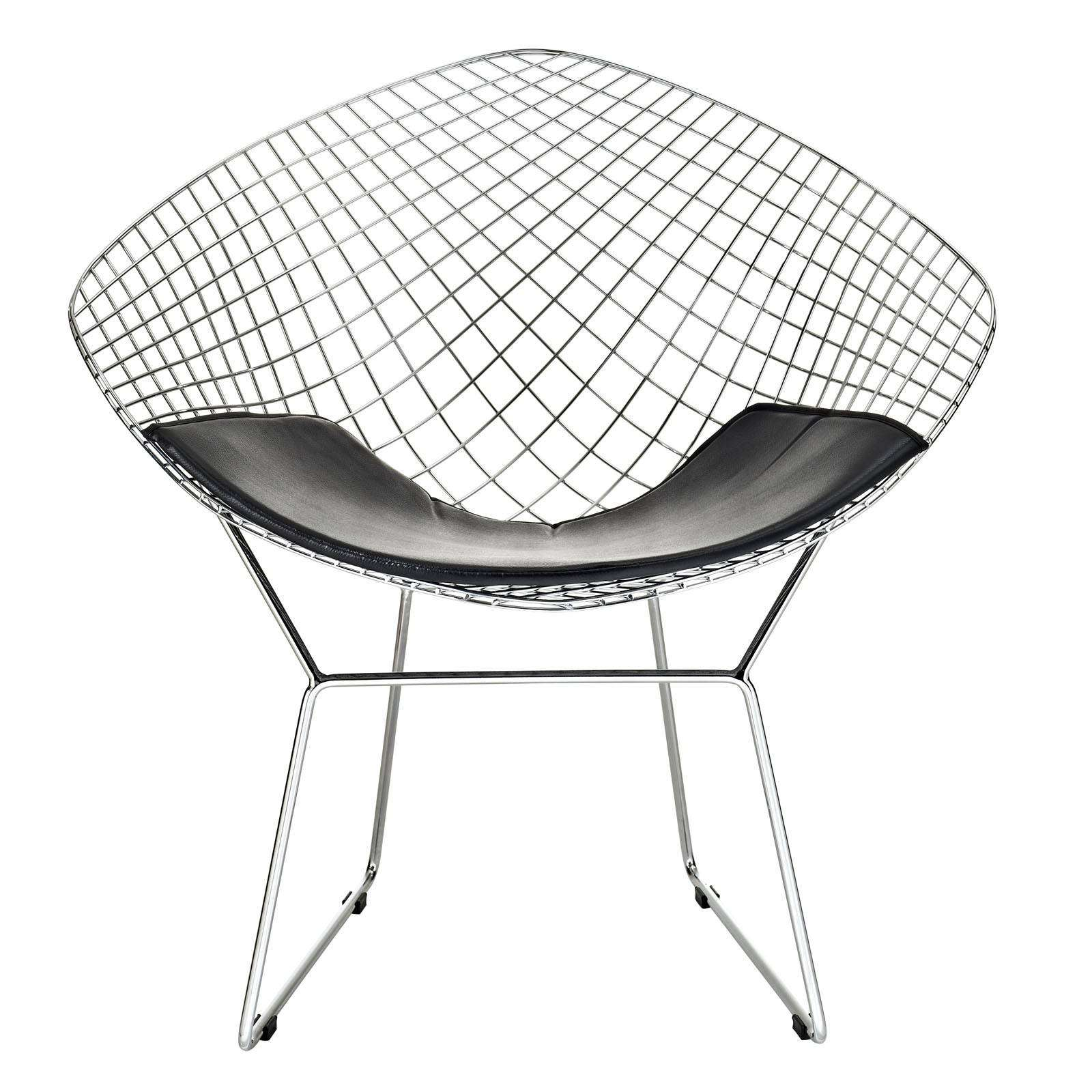 bertoia style diamond wire chair. Black Bedroom Furniture Sets. Home Design Ideas