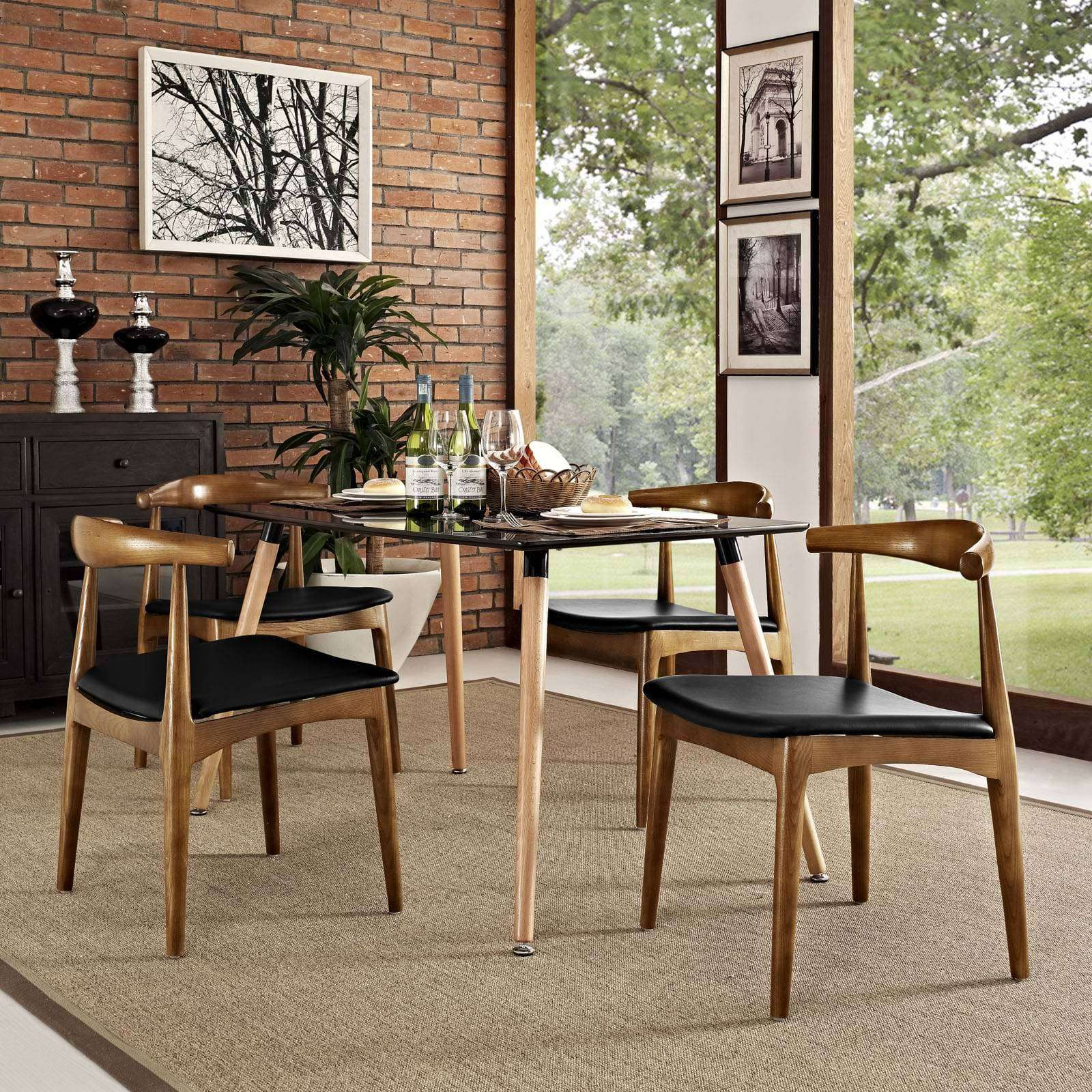 4 Chairs In Dining Room: Modterior :: Dining Room :: Dining Sets :: Tracy Dining