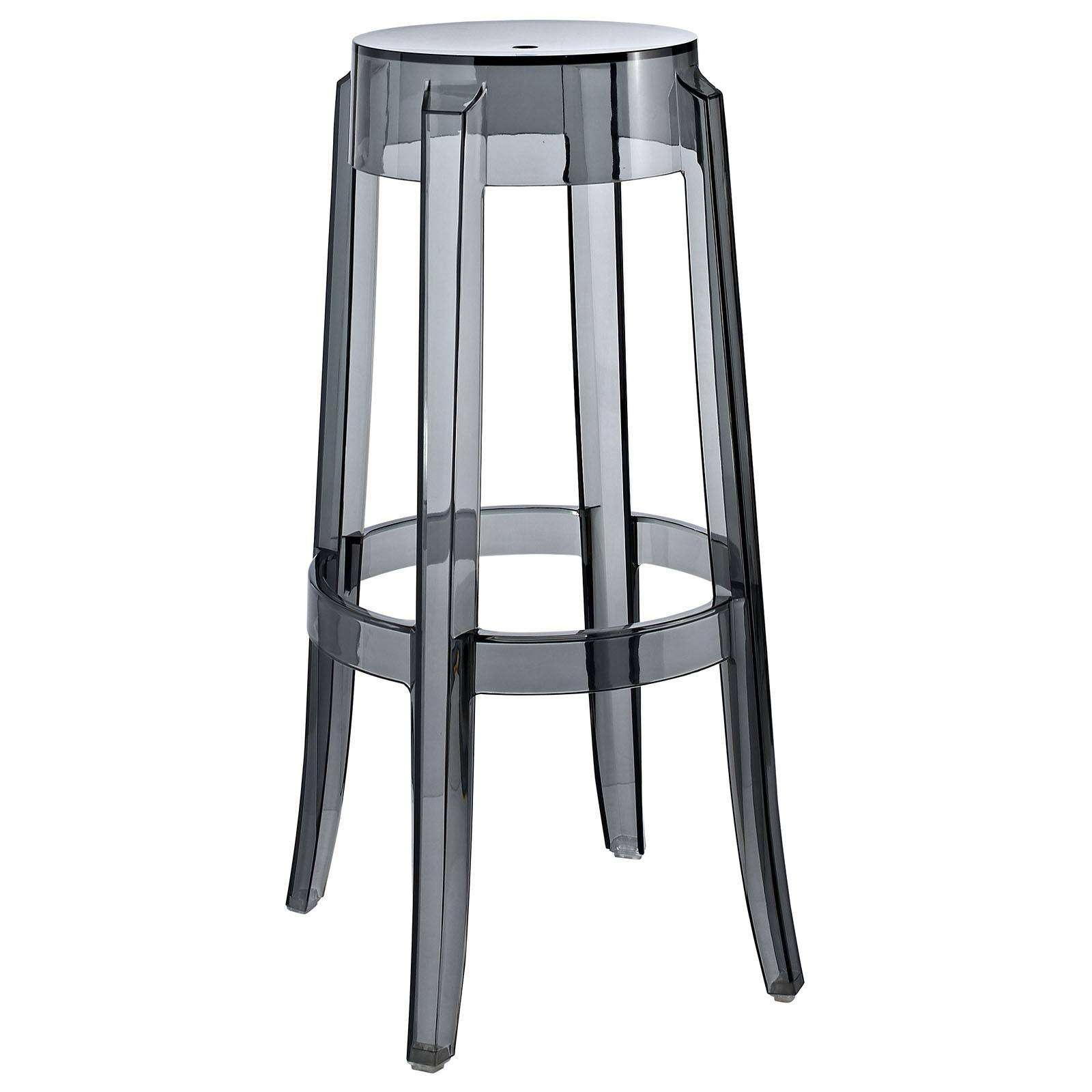 philippe starck style charles ghost bar stool. Black Bedroom Furniture Sets. Home Design Ideas