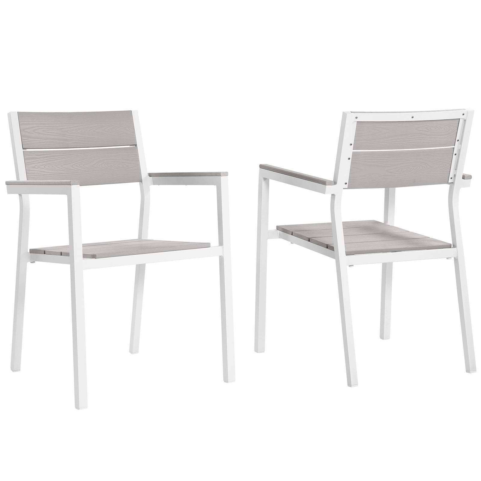 ... Maine Dining Armchair Outdoor Patio Set Of 2 ...