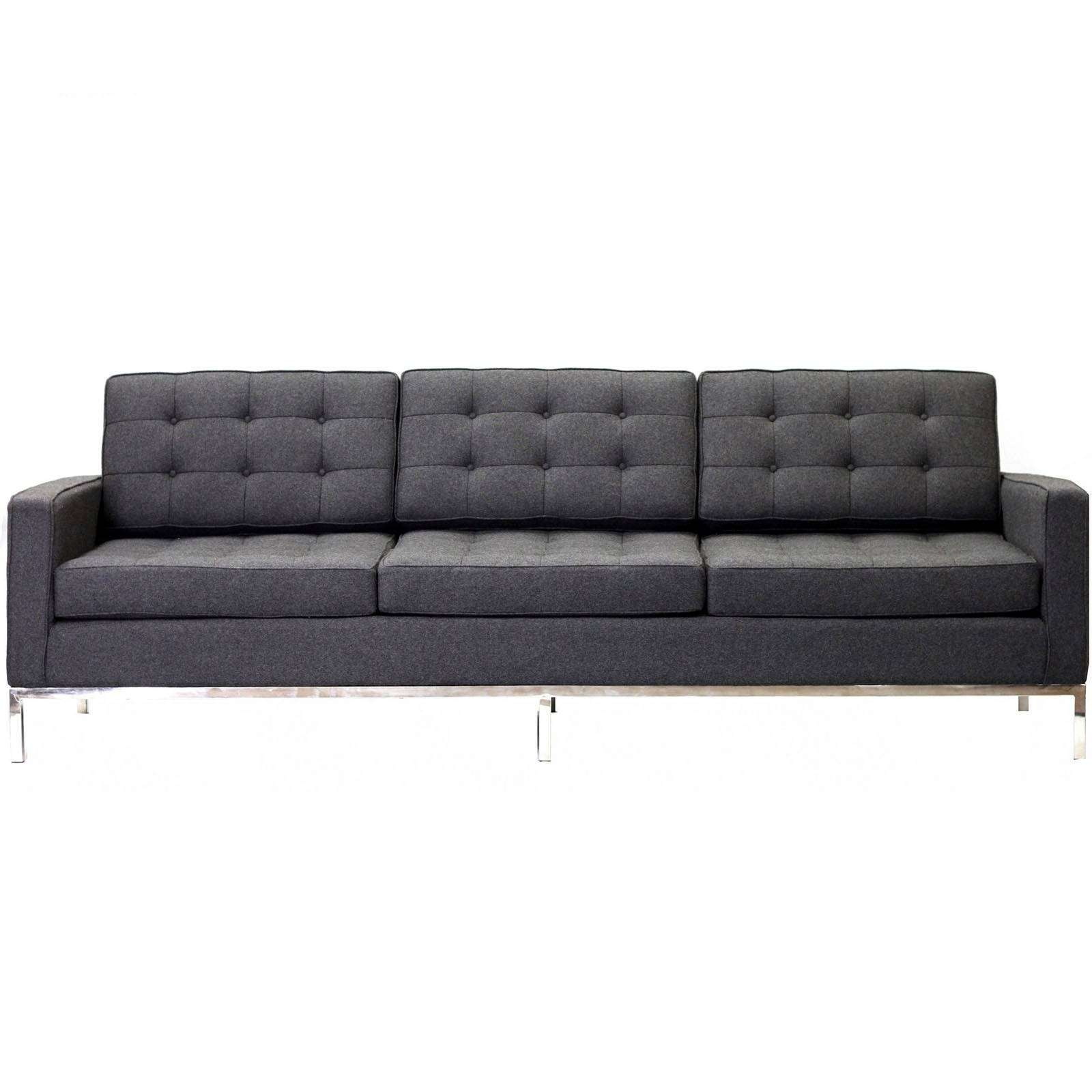 Knoll Style Sofa Couch Wool