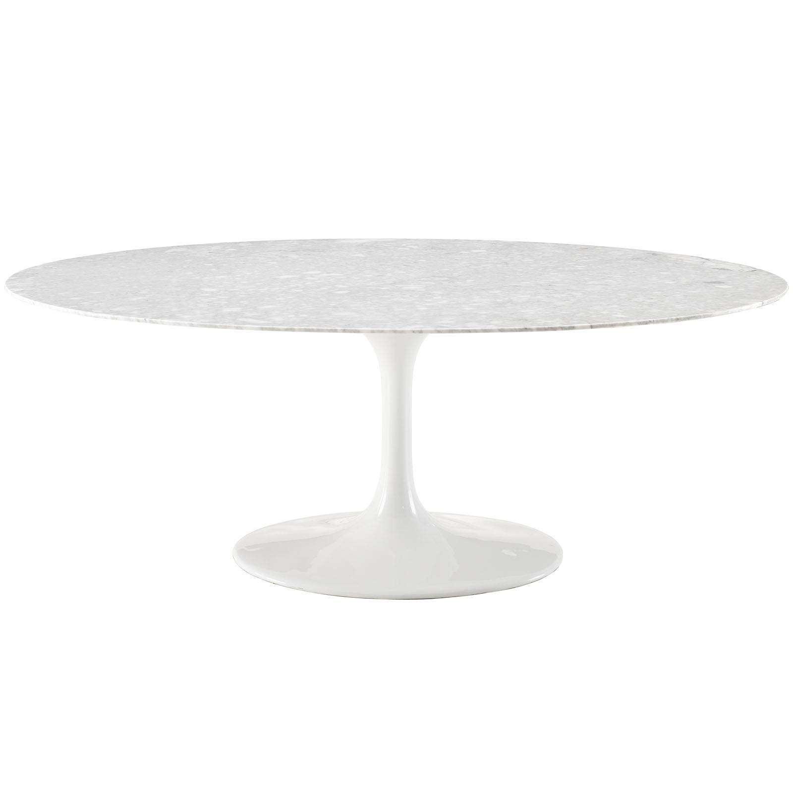 """Saarinen Style Tulip Table Marble 78"""""""