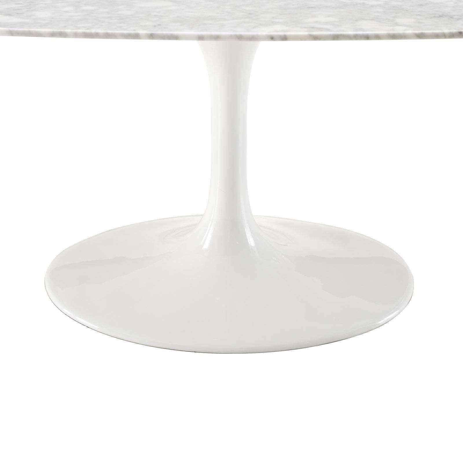 """Eero Saarinen Style Tulip Table Marble 78"""""""