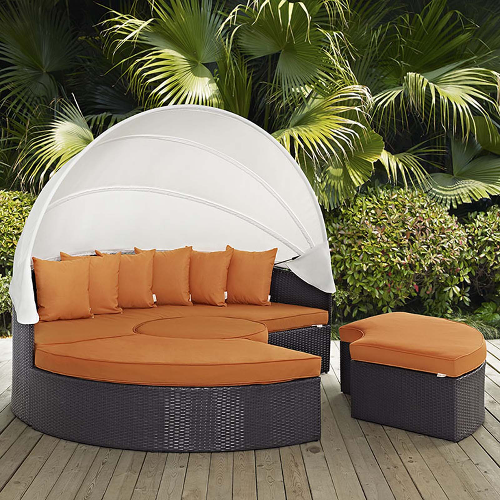 Modterior Outdoor Daybeds Convene Canopy Outdoor Patio Daybed
