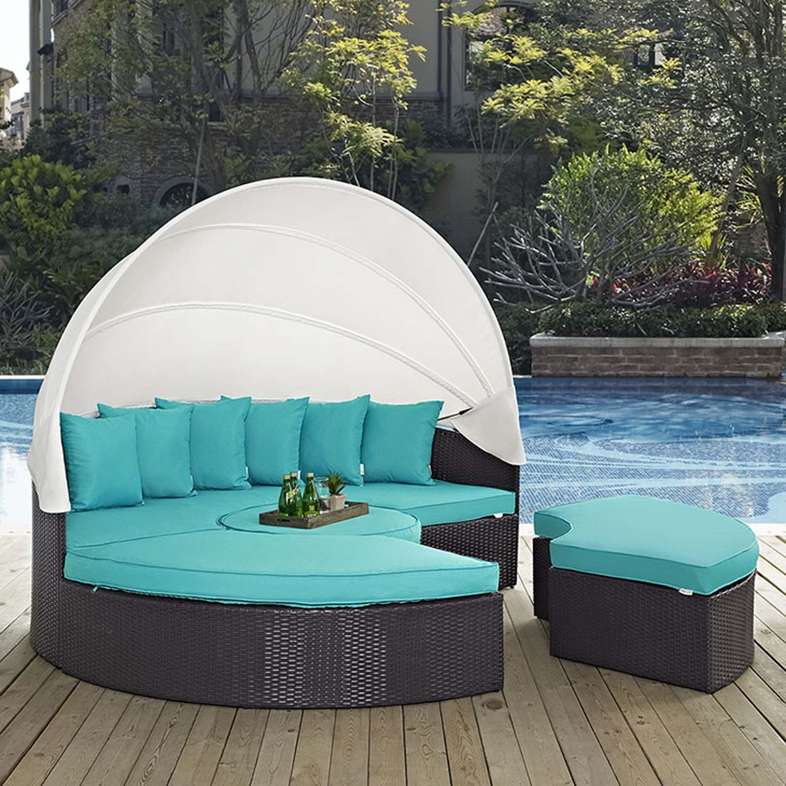 Modterior Outdoor Daybeds Convene Canopy Outdoor