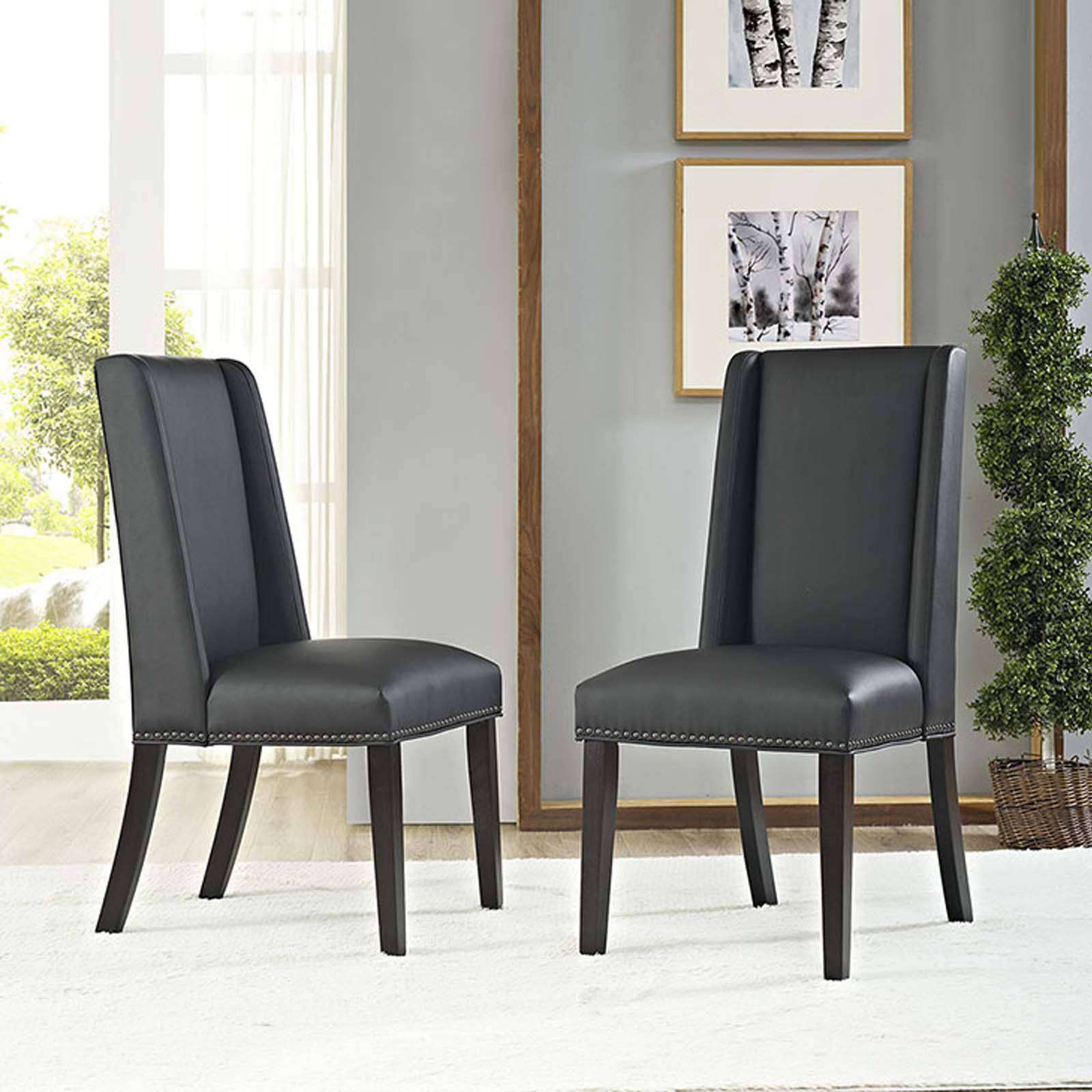 Modterior Dining Room Dining Chairs Baron Vinyl