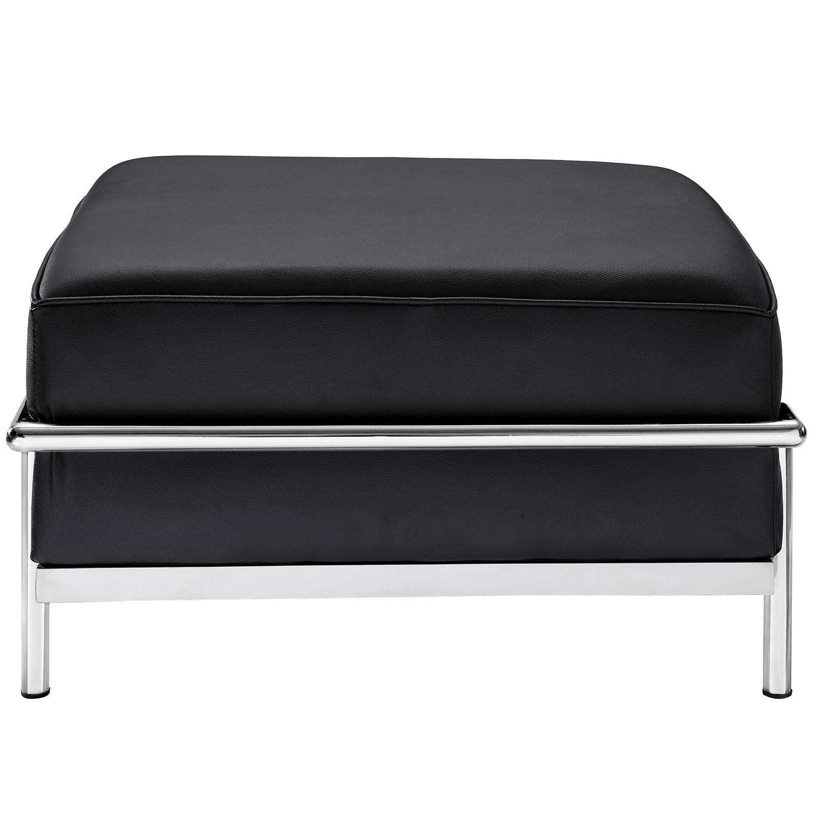 Le Corbusier Style Lc3 Ottoman Leather