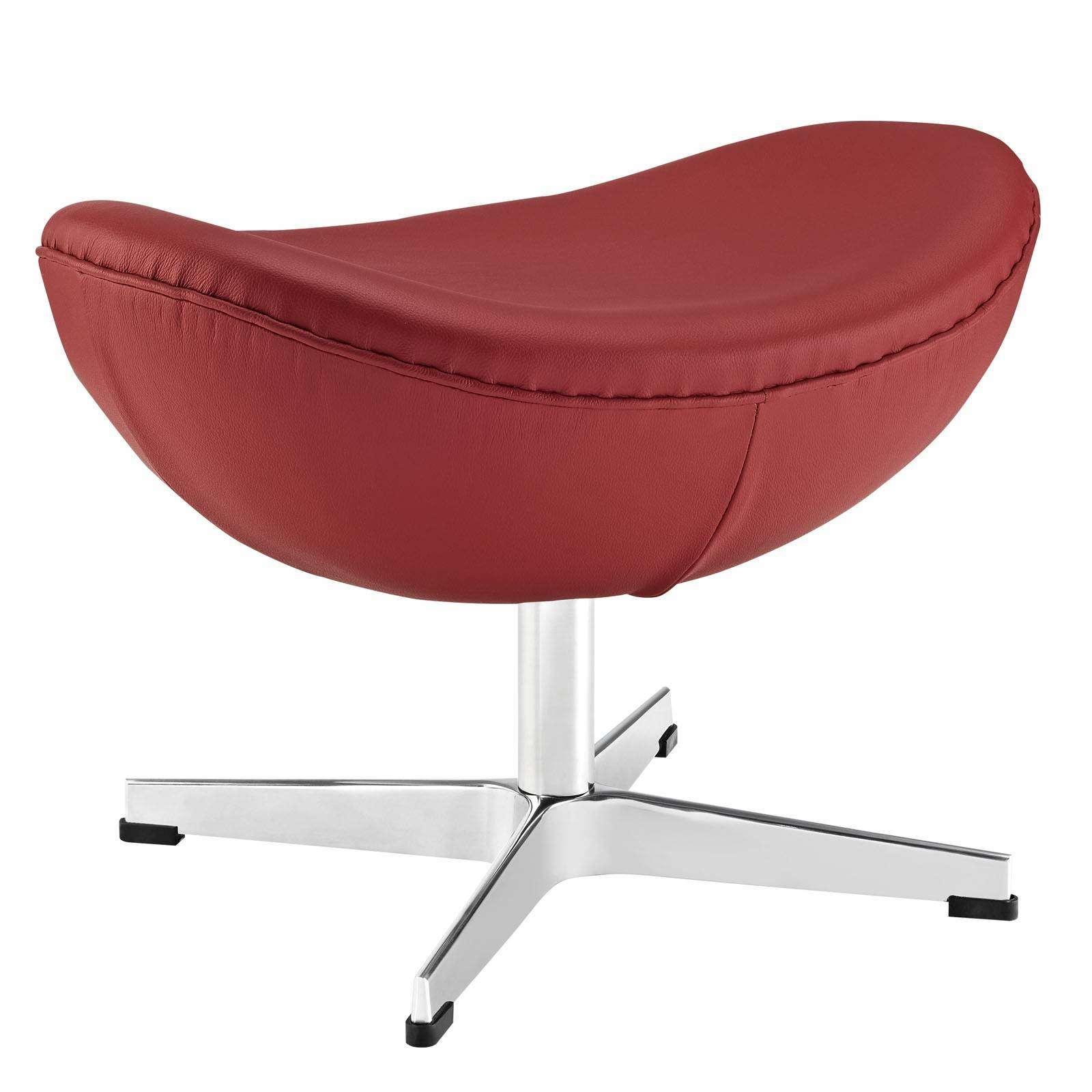 arne jacobsen ottoman for egg chair leather