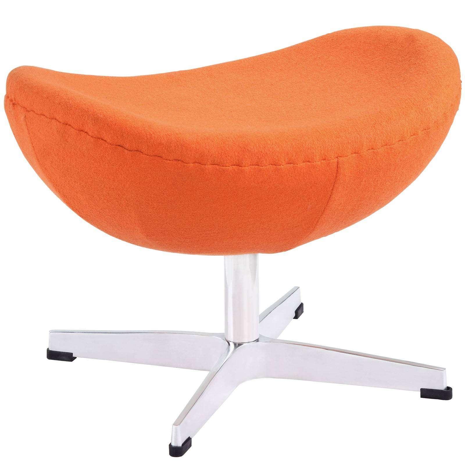 Arne Jacobsen Ottoman For Egg Chair Wool