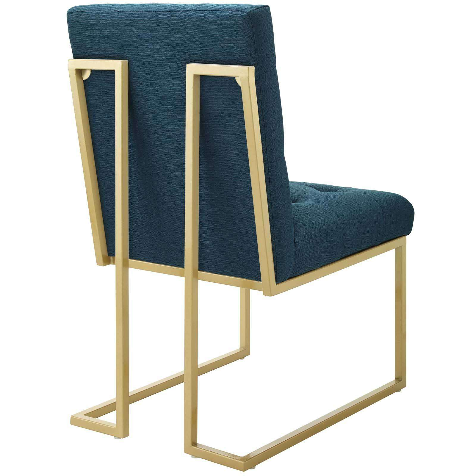 Modterior Dining Room Dining Chairs Privy Gold