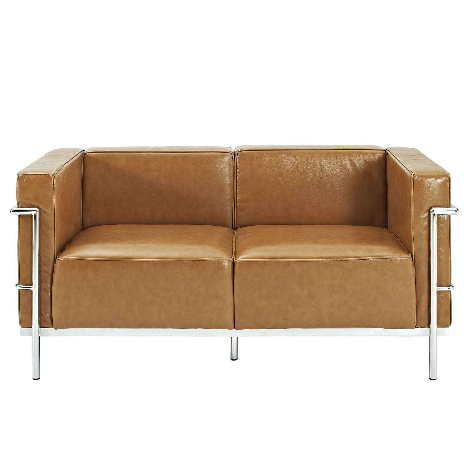 Le Corbusier Style Lc3 Loveseat Leather