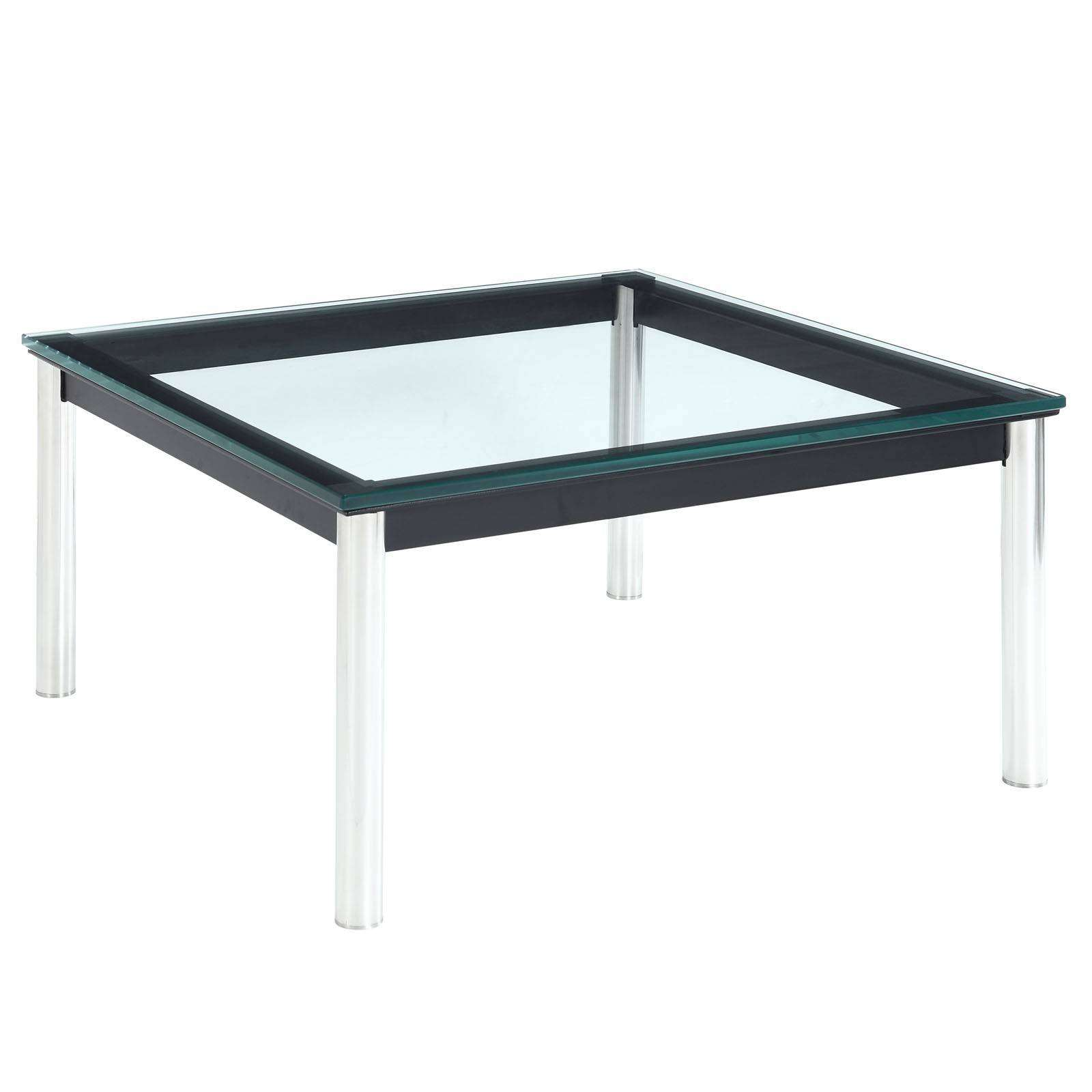 25 Best Collection Of Noguchi Coffee Table Dimensions: Le Corbusier Style LC10 End Table