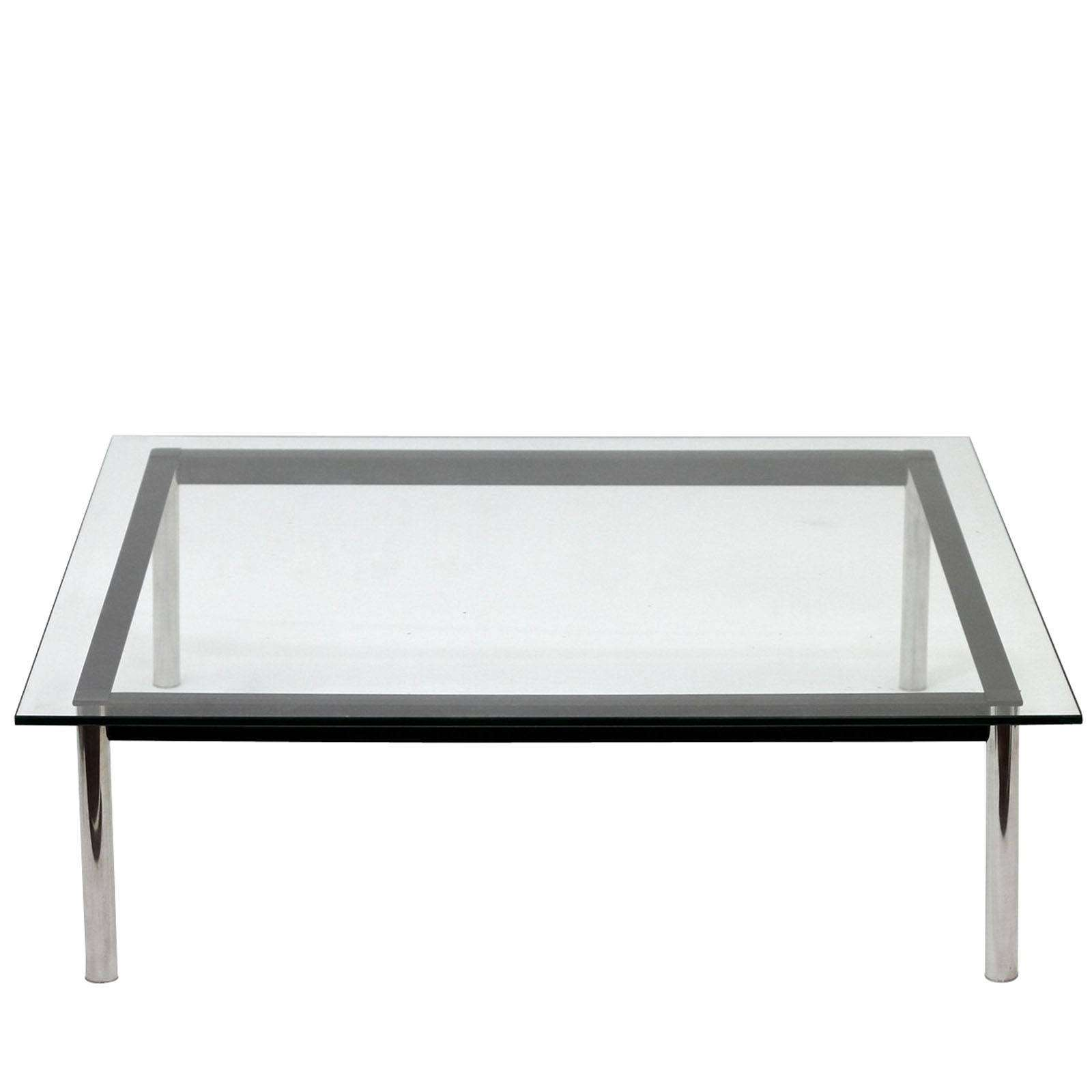 Le Corbusier Style Lc10 Square Coffee Table