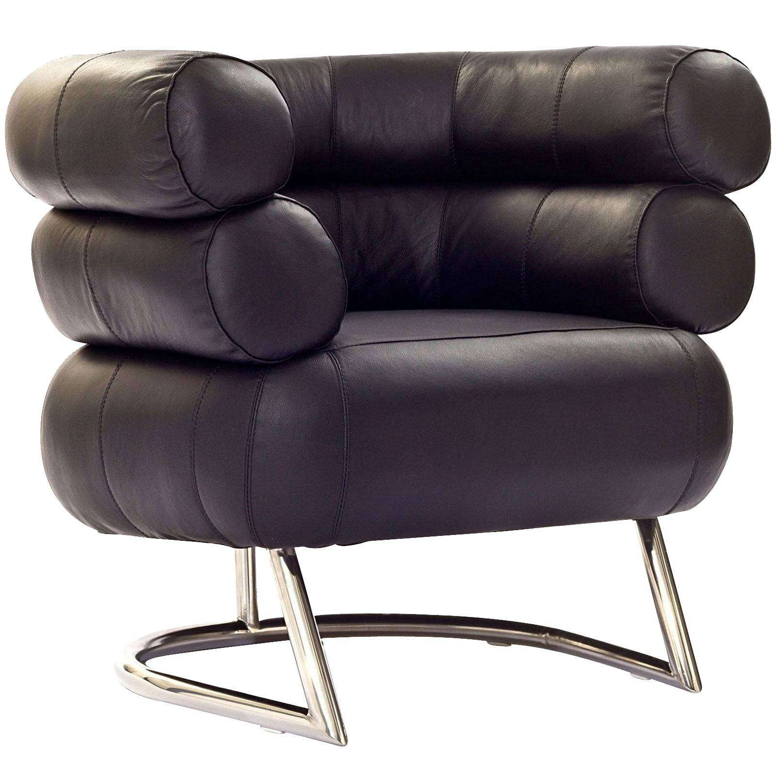 Eileen gray bibendum arm chair for Furniture chairs
