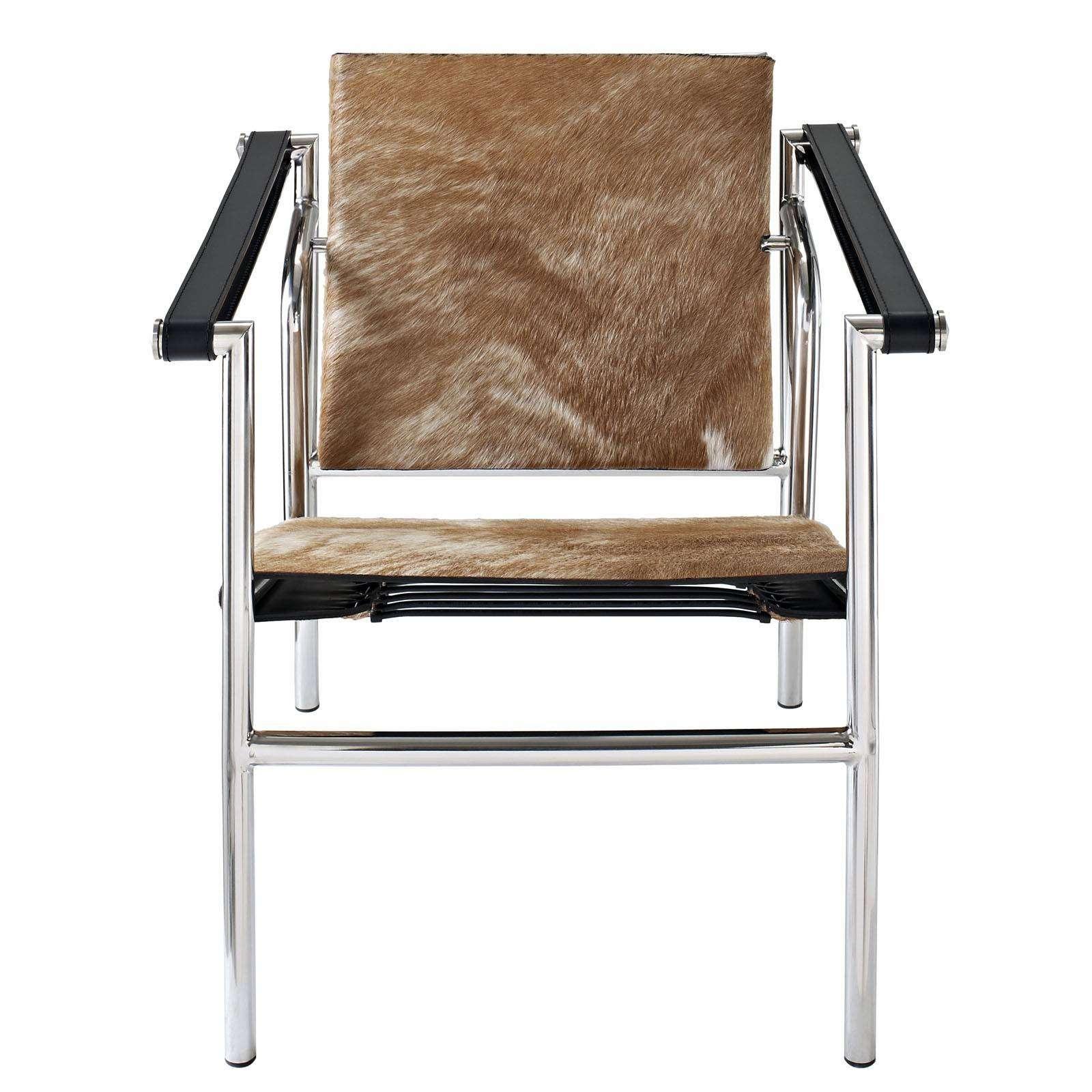 Le corbusier style lc1 sling chair cowhide - Chaise lc1 le corbusier ...