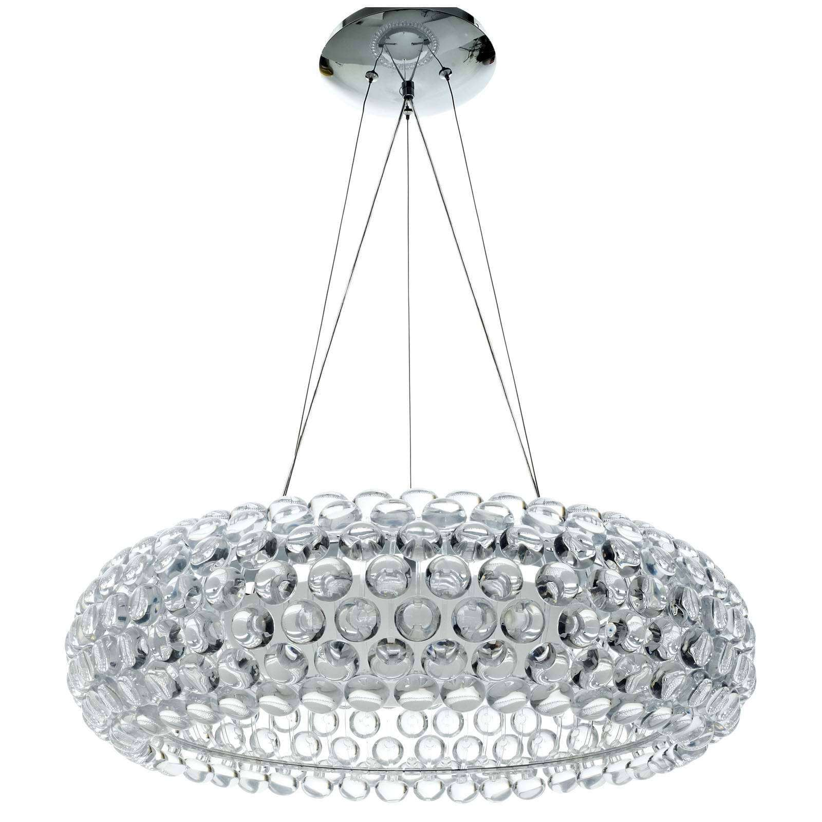 Modterior lighting chandeliers halo 25 acrylic chandelier halo 25 acrylic chandelier arubaitofo Gallery