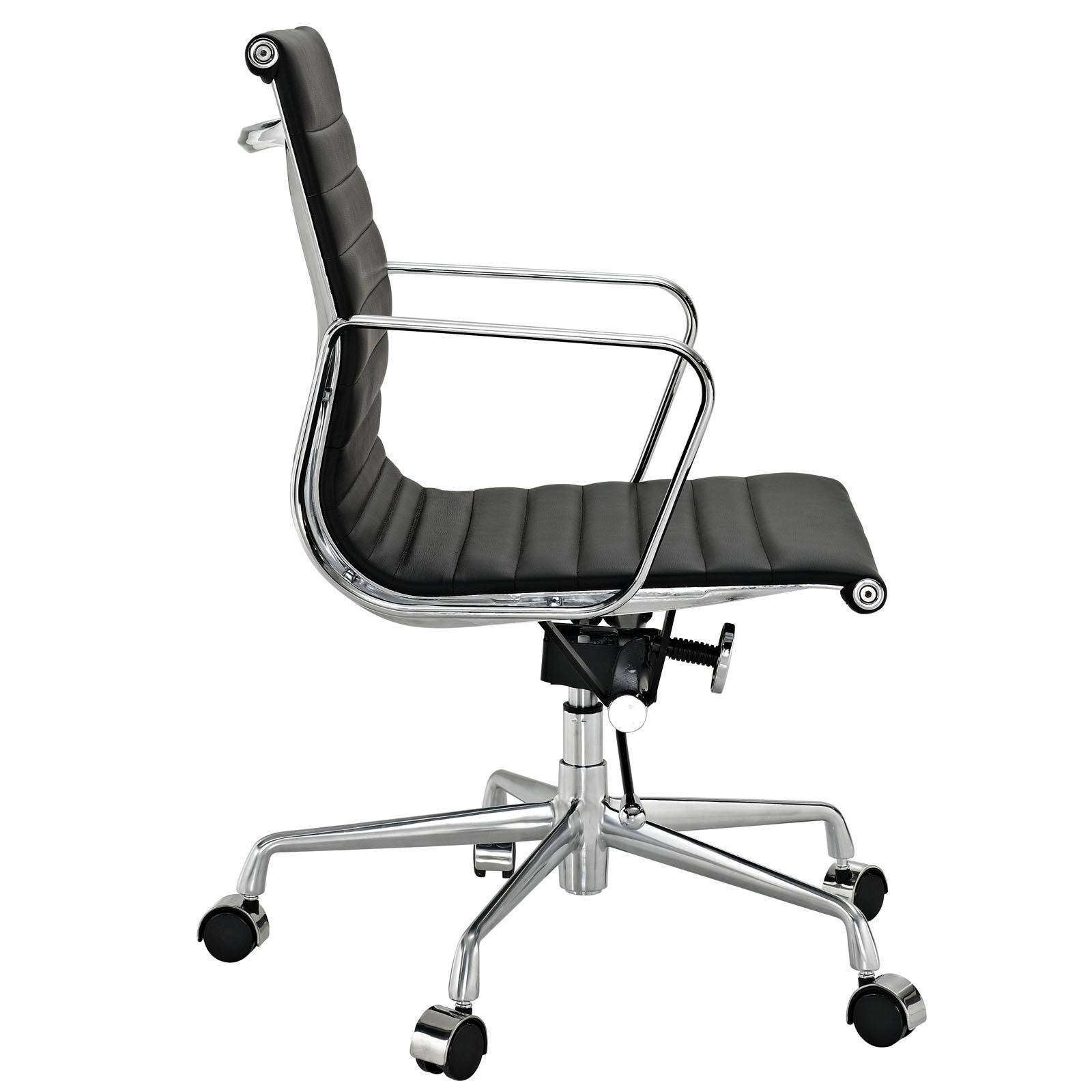 Eames Office Chair Aluminum Management Style Office