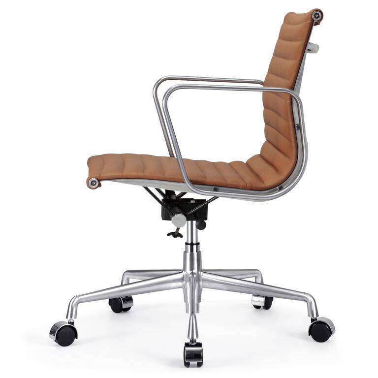 sc 1 st  Modterior & Mid Back Office Chair - Italian Leather
