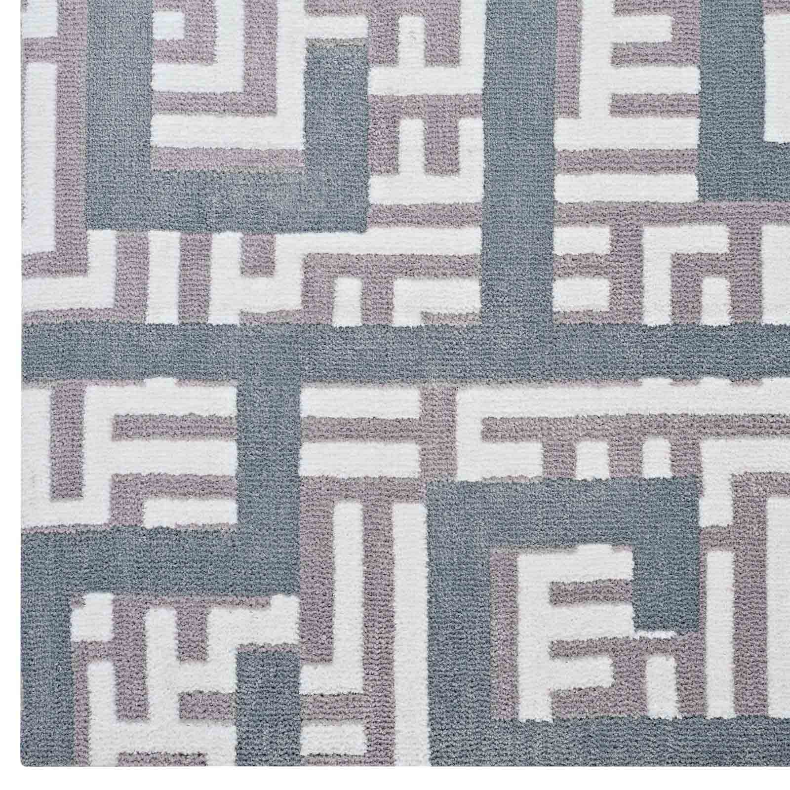 Modterior D 233 Cors Rugs Nahia Geometric Maze 8x10