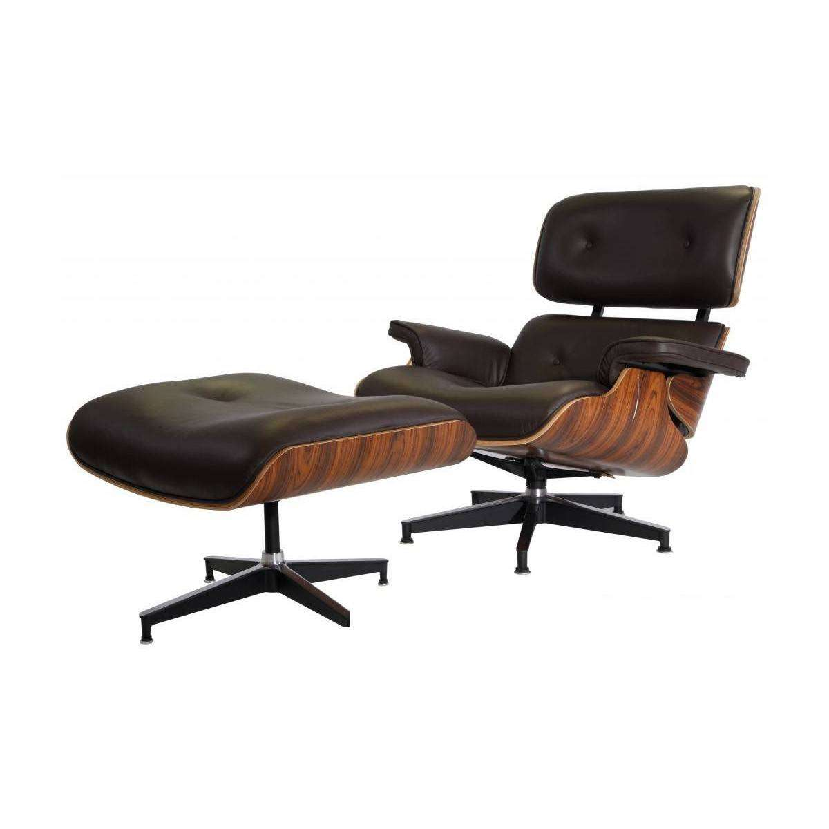 Eames Lounge Stoel Replica.Eames Lounge Chair Ottoman Replica Modterior Usa