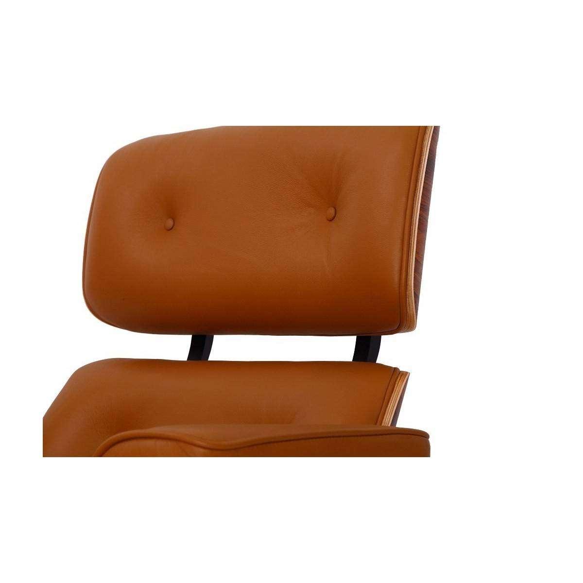Mod Lounge Chair Amp Ottoman Terracotta Palisander