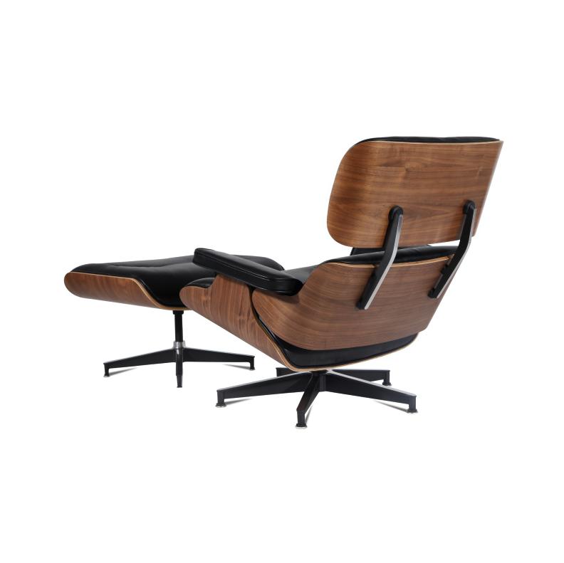 Mod Lounge Chair Amp Ottoman Black Walnut