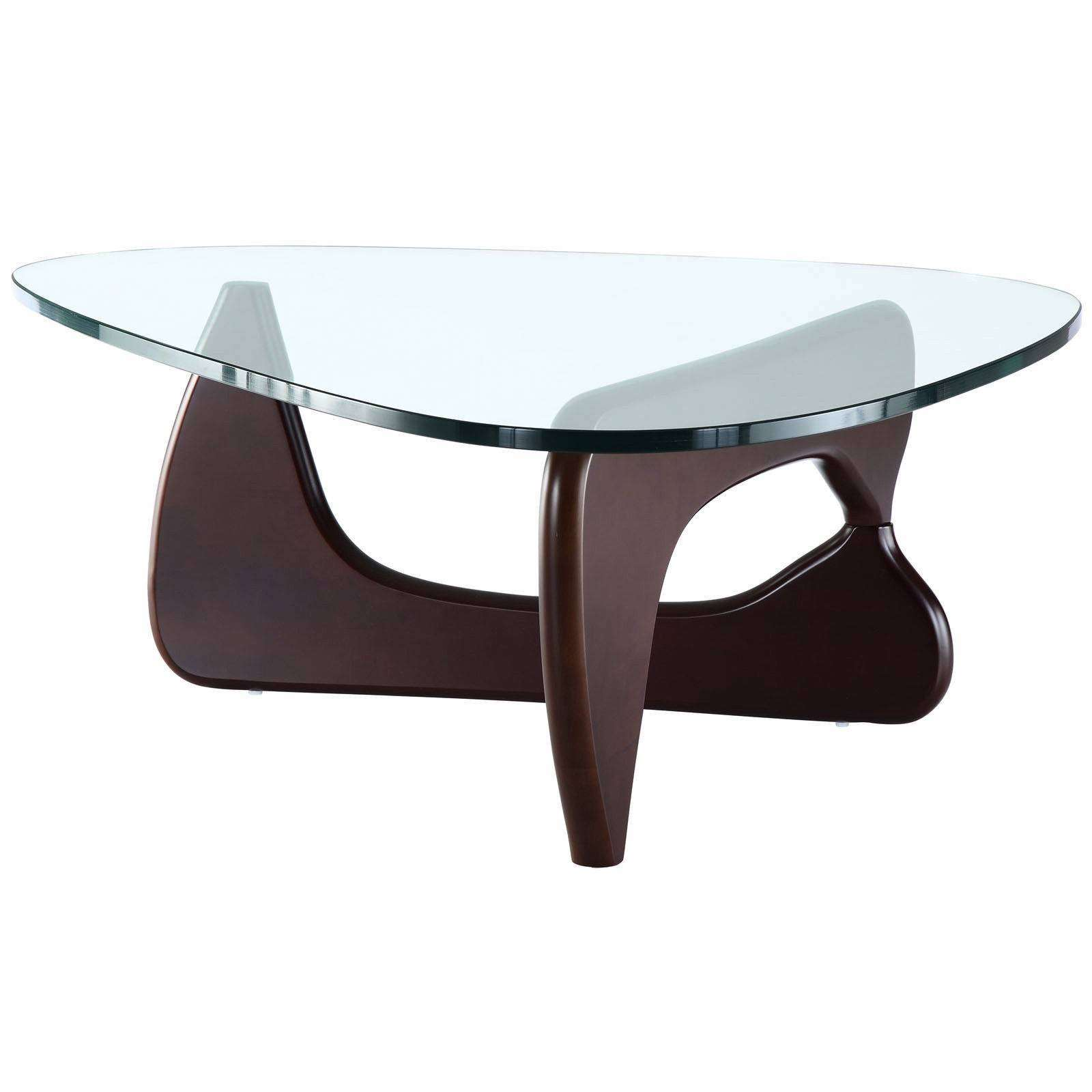 Noguchi Coffee Table Reproduction Dark Walnut
