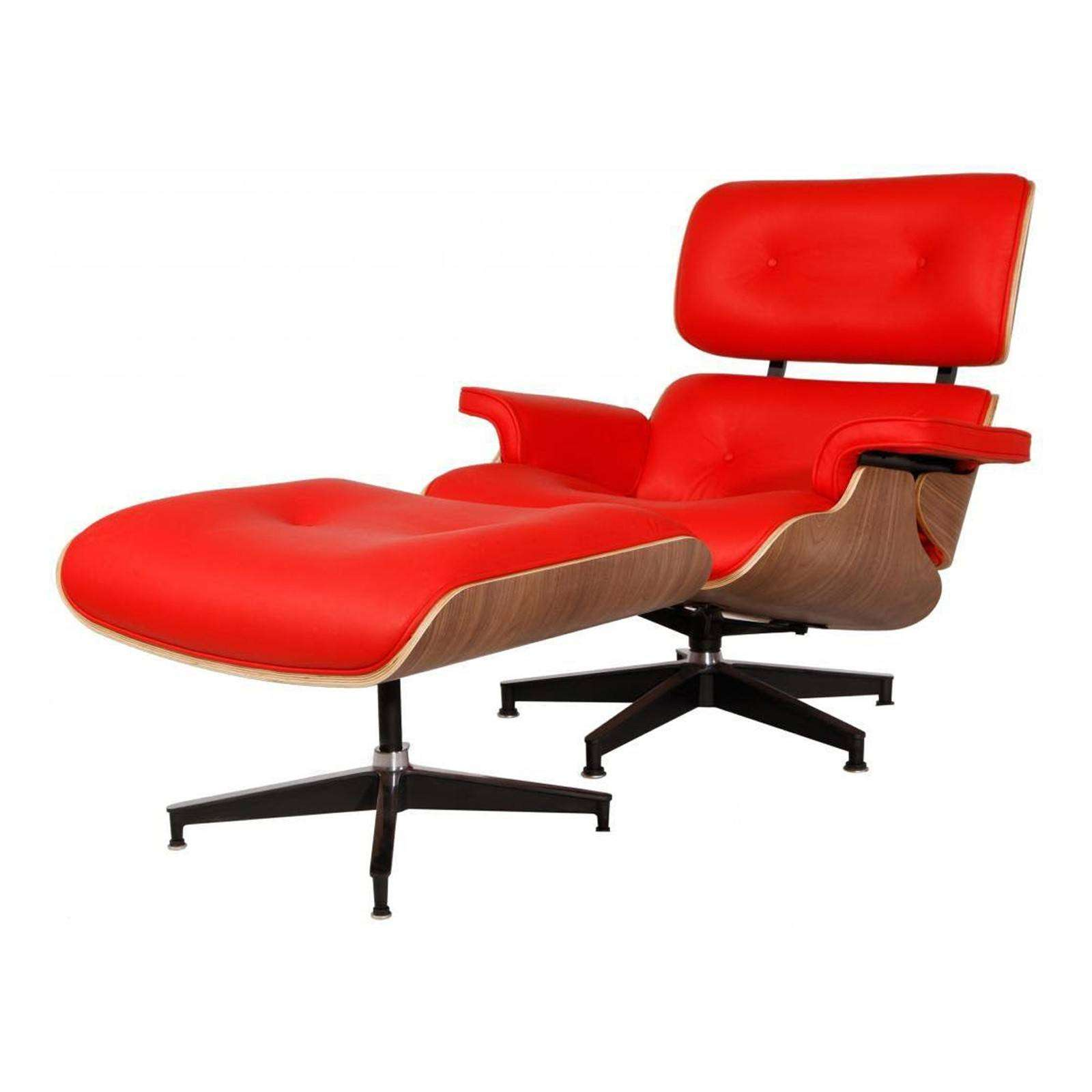 Enjoyable Eames Lounge Chair Ottoman Replica Modterior Usa Machost Co Dining Chair Design Ideas Machostcouk