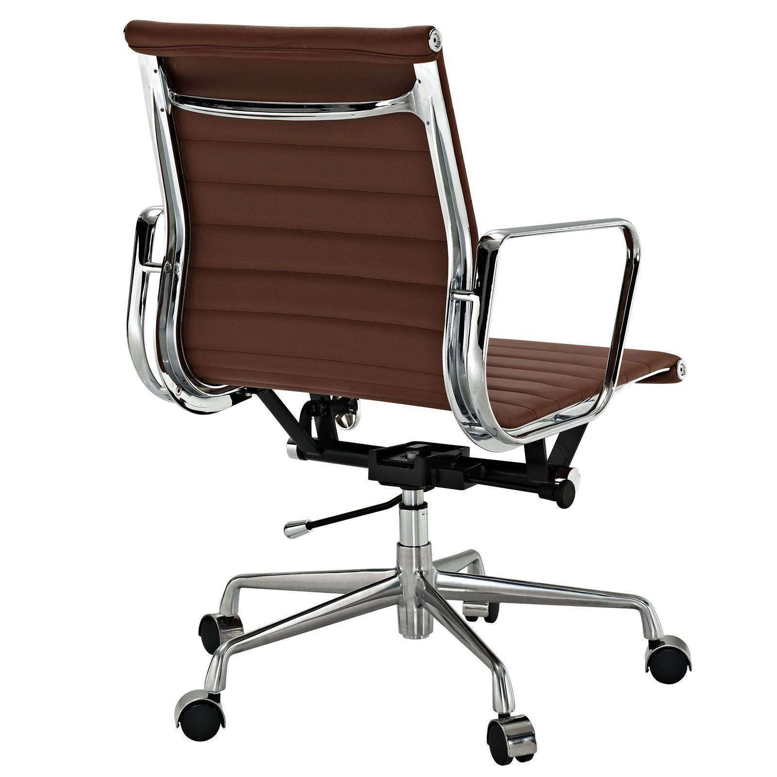 eames office chair aluminum management style office chair modterior. Black Bedroom Furniture Sets. Home Design Ideas