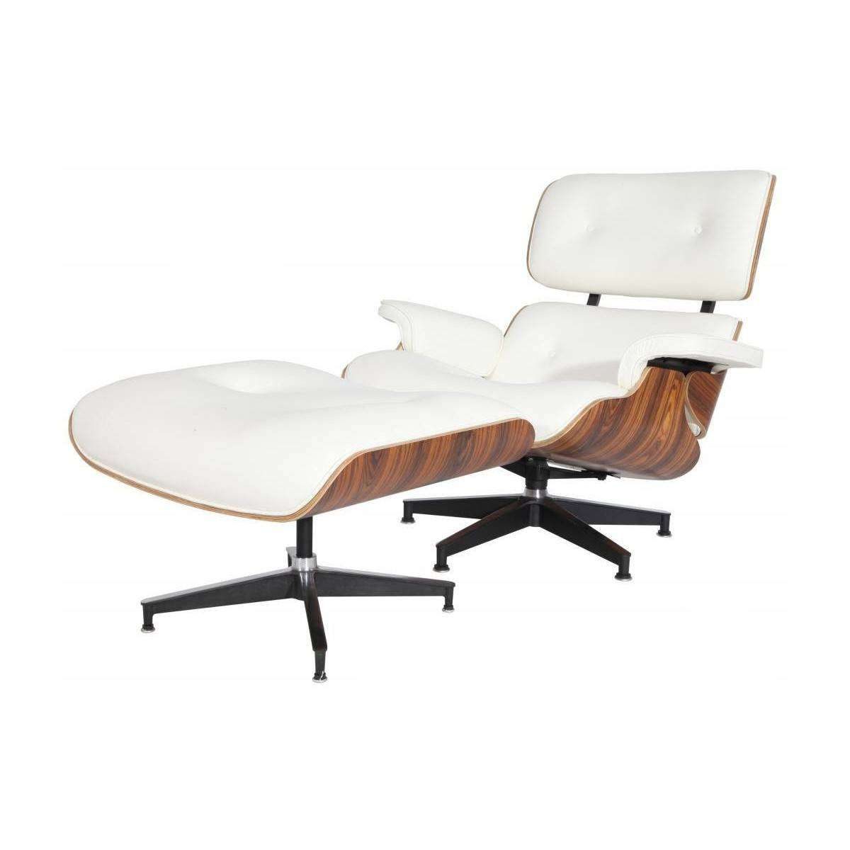 Eames chair replica eames lounge chair and ottoman image for Reproduction chaise dsw